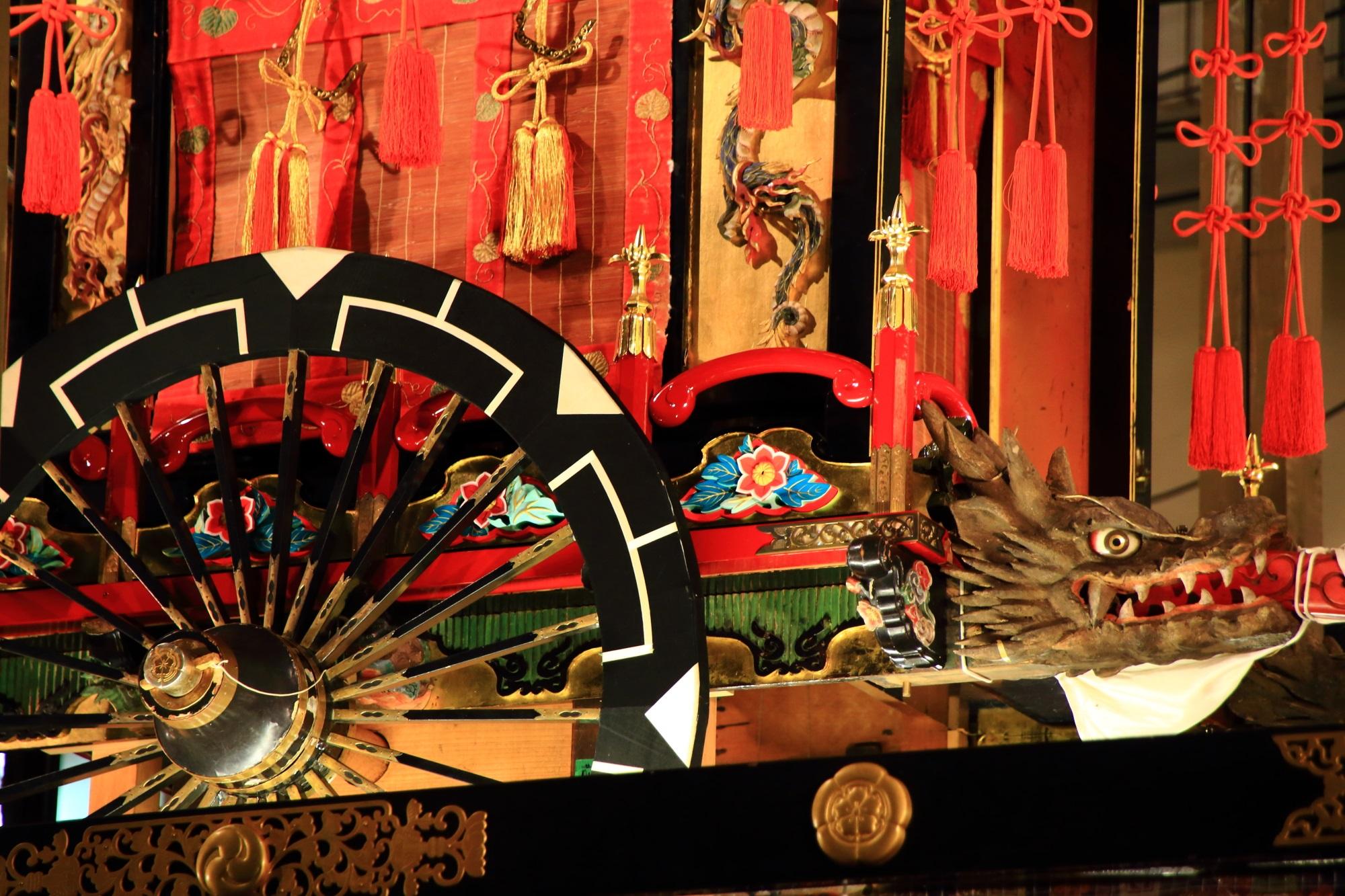 祇園祭の宵山の蟷螂山