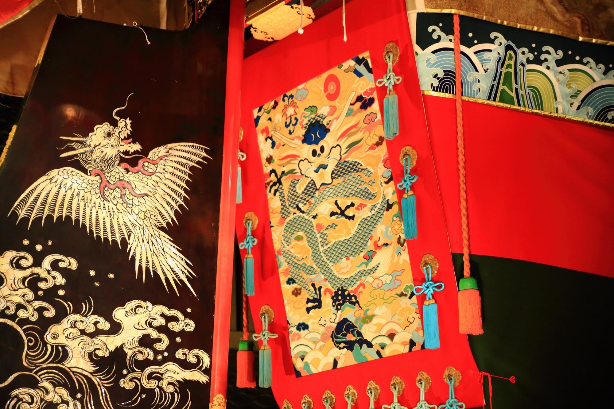 夏の風物詩の祇園祭の宵山の船鉾