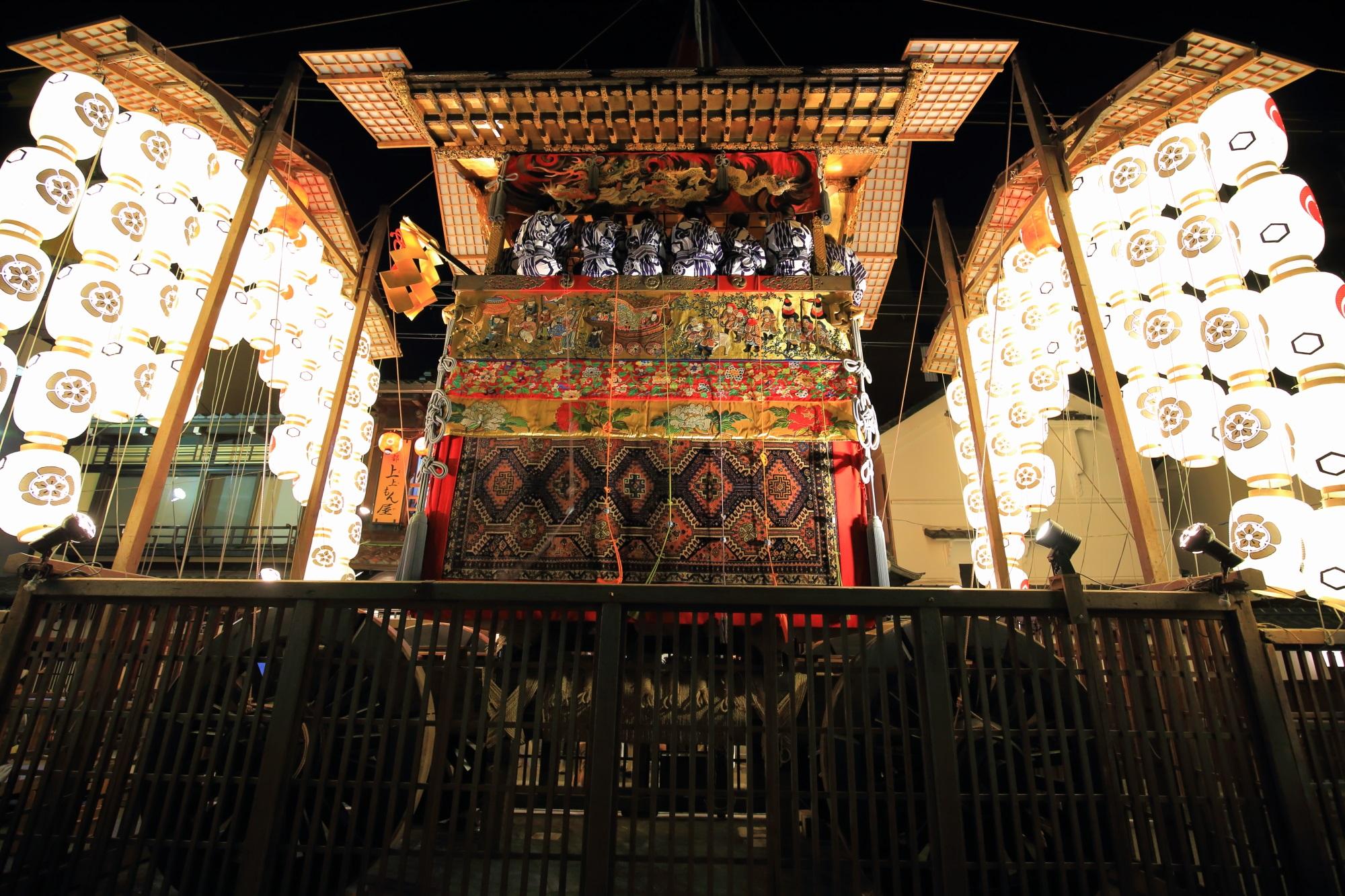 高画質 祇園祭 後祭 宵山 写真 北観音山