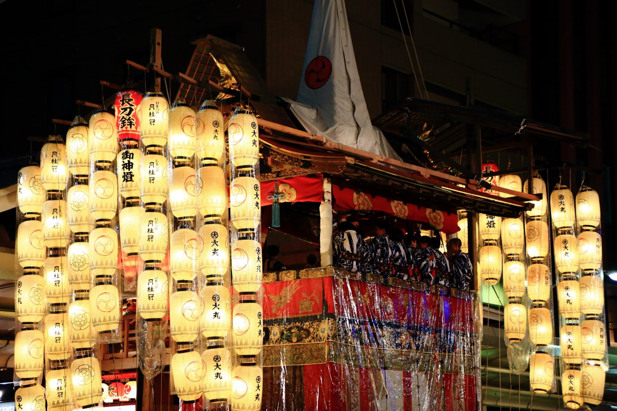 高画質 写真 祇園祭 宵山 長刀鉾