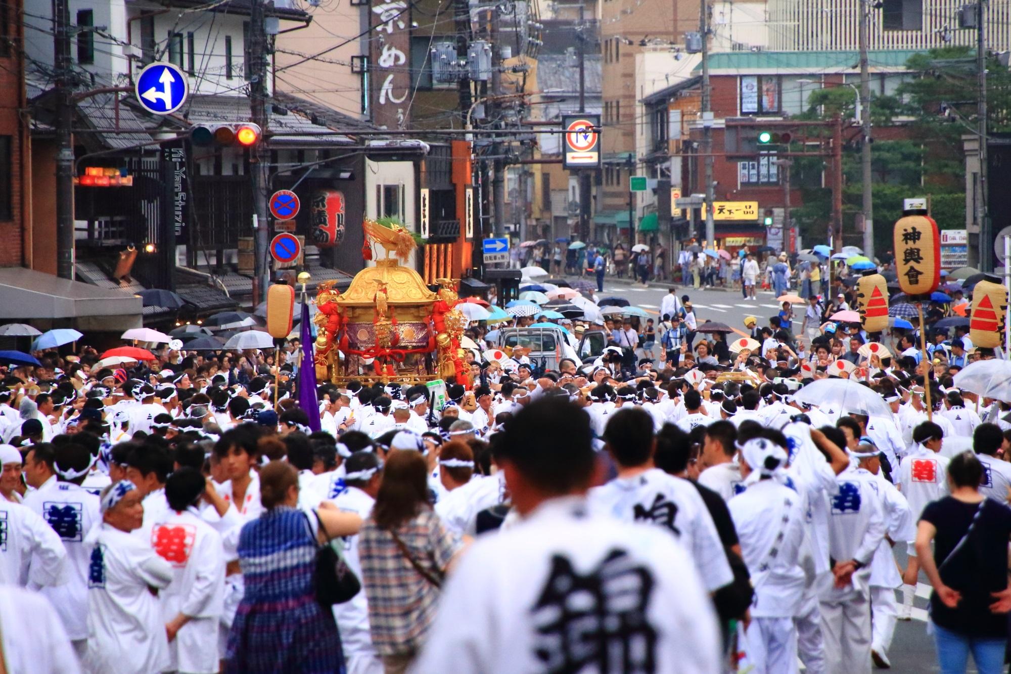 日本三大祭 神輿渡御 祇園祭