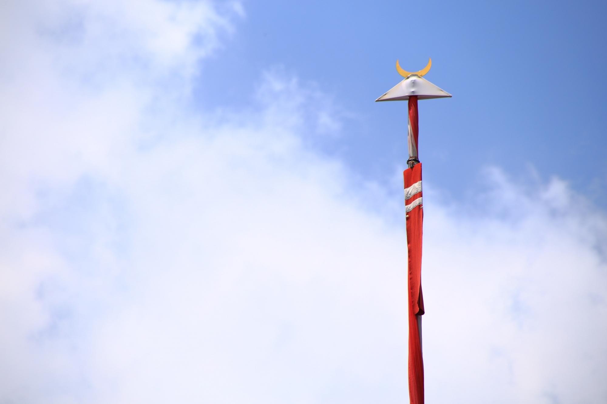 祇園祭の函谷鉾の鉾頭