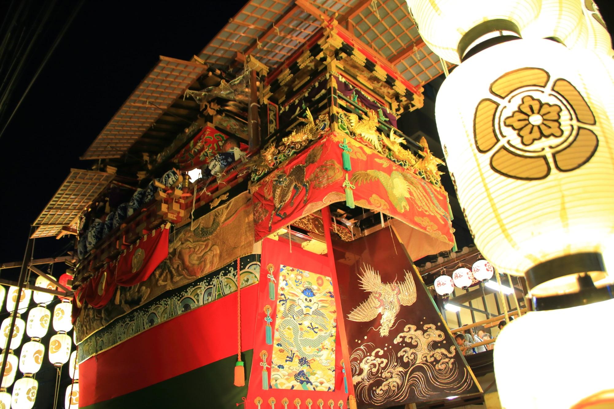 高画質 宵山 祇園祭 写真 船鉾