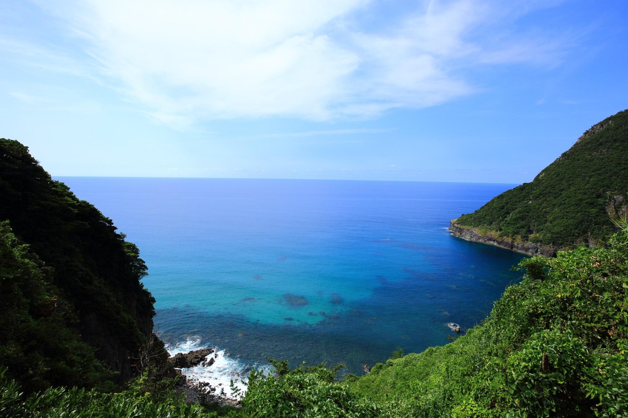 歩いていると突然やってくる京丹後の犬ヶ岬の絶景