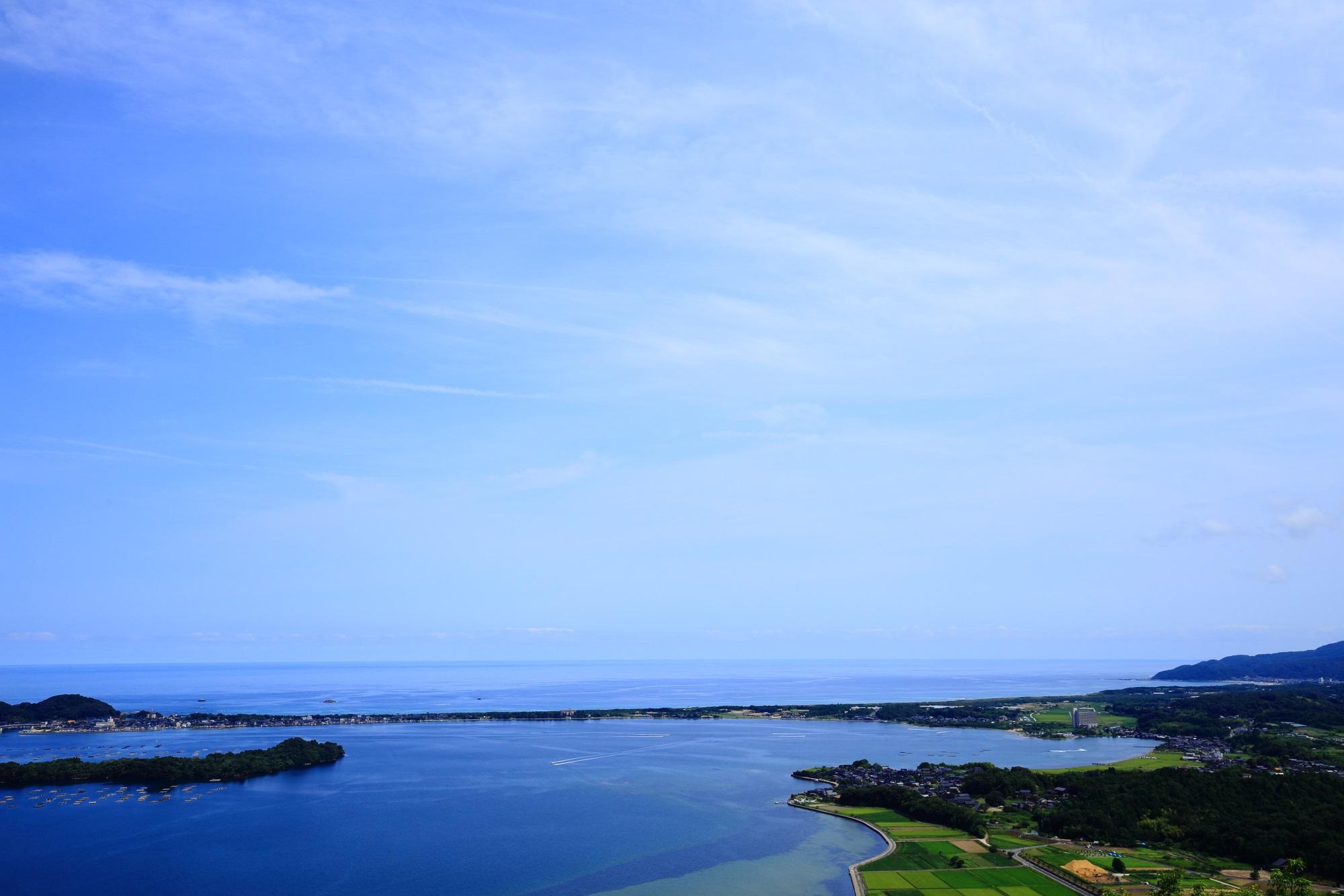 高画質 久美浜湾 絶景 写真