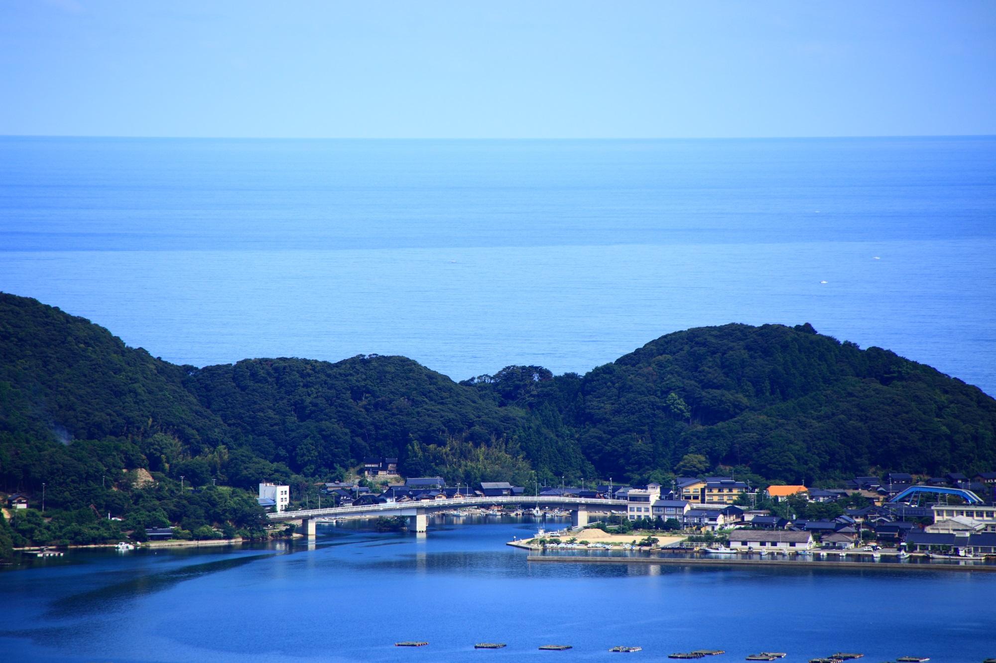 久美浜湾の小天橋(しょうてんきょう)
