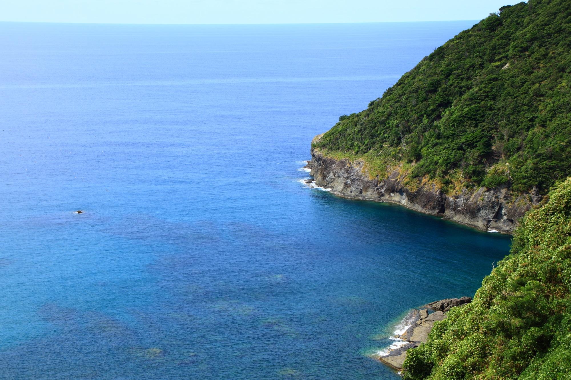 Kyoto Kyotango Inugasaki and blue sea