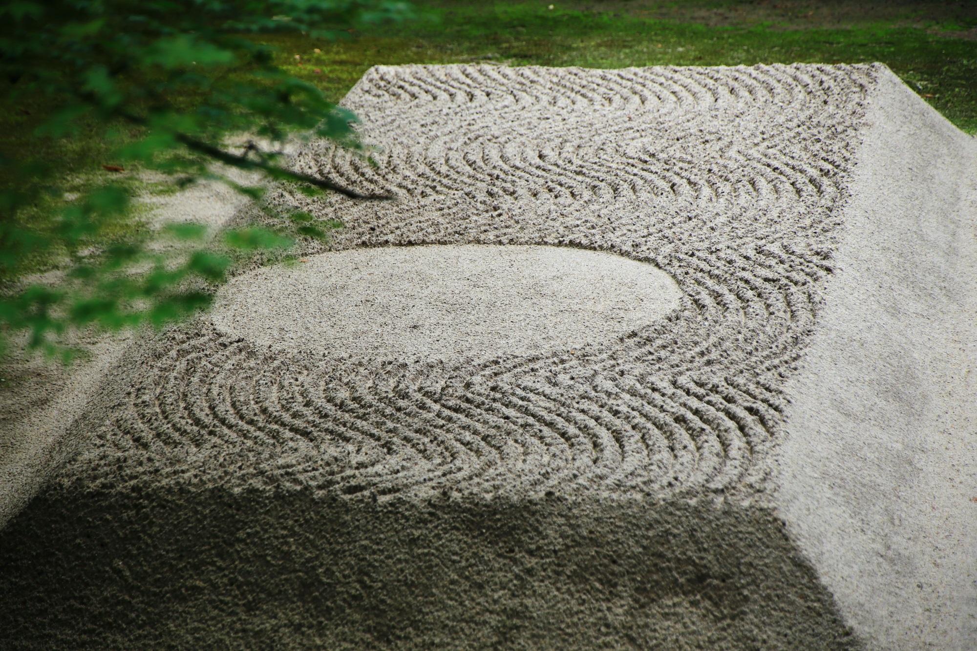白砂壇 写真 高画質 法然院
