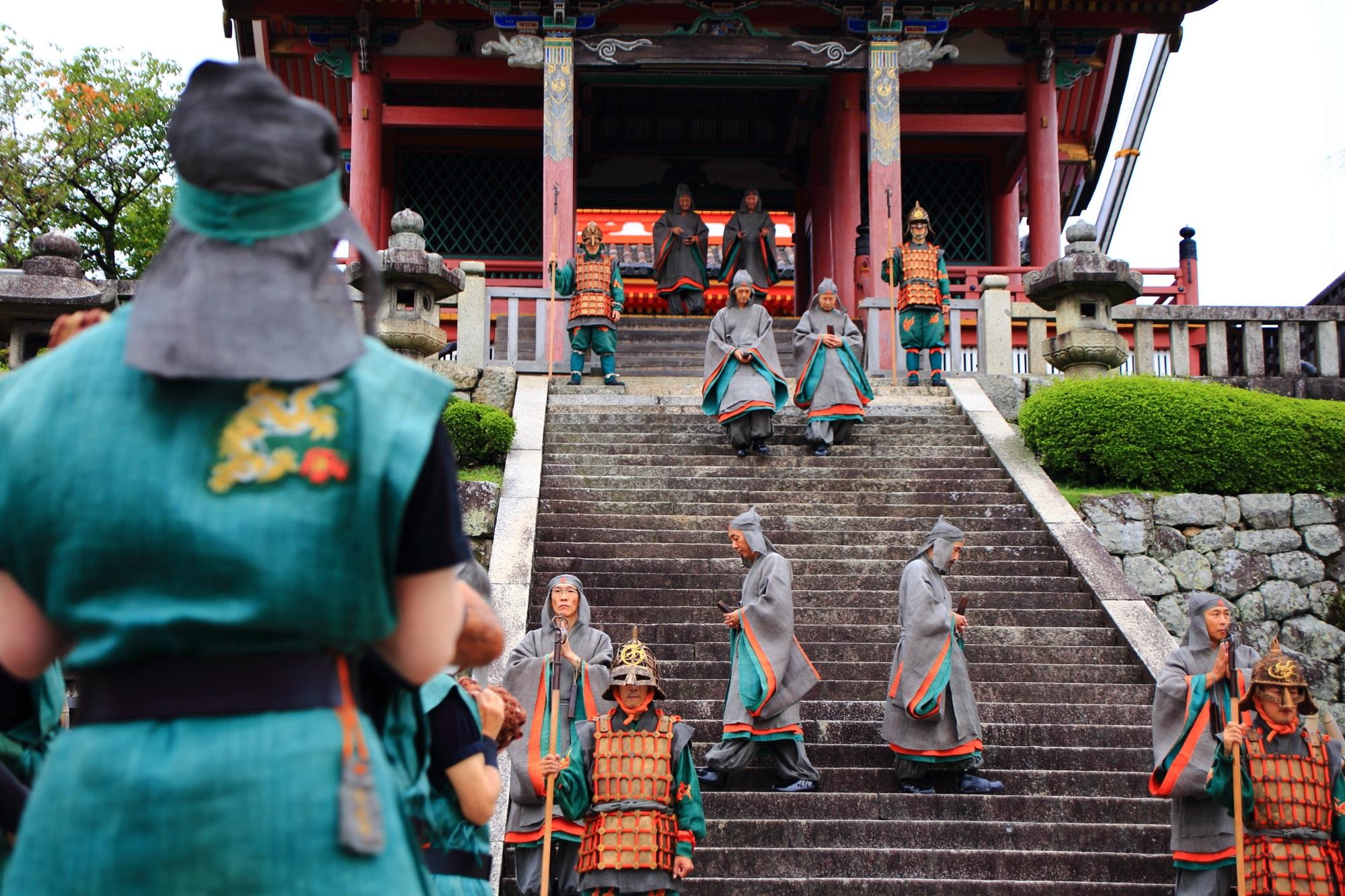 せいりゅうかい 清水寺 西門