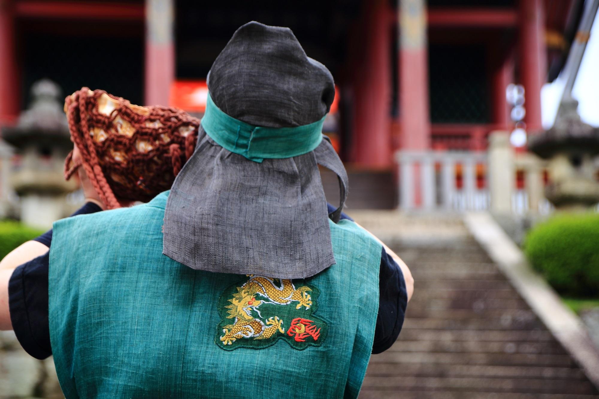 清水寺の青龍会の転法衆(てんぽうしゅう)