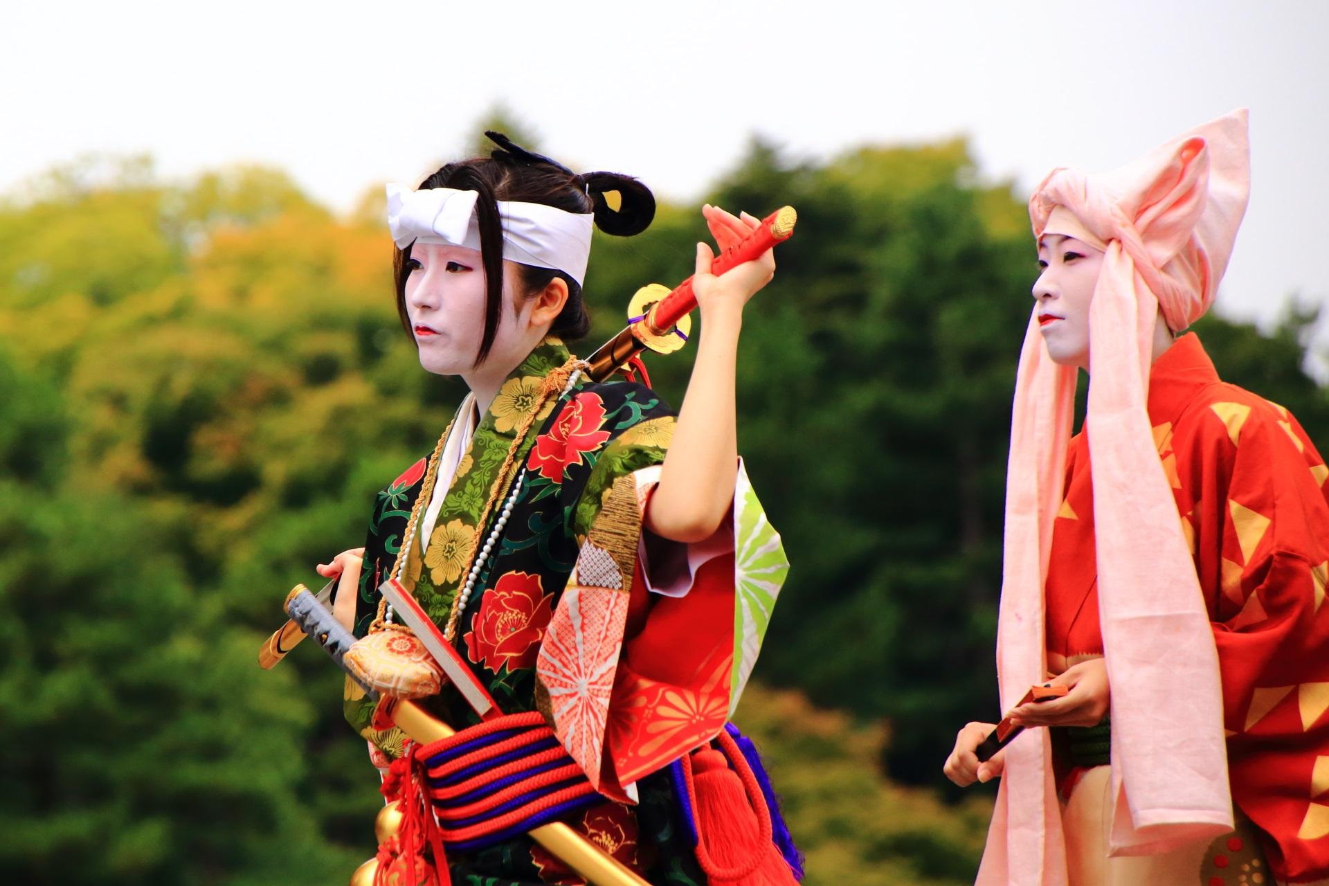 京都三大祭の江戸時代の出雲阿国