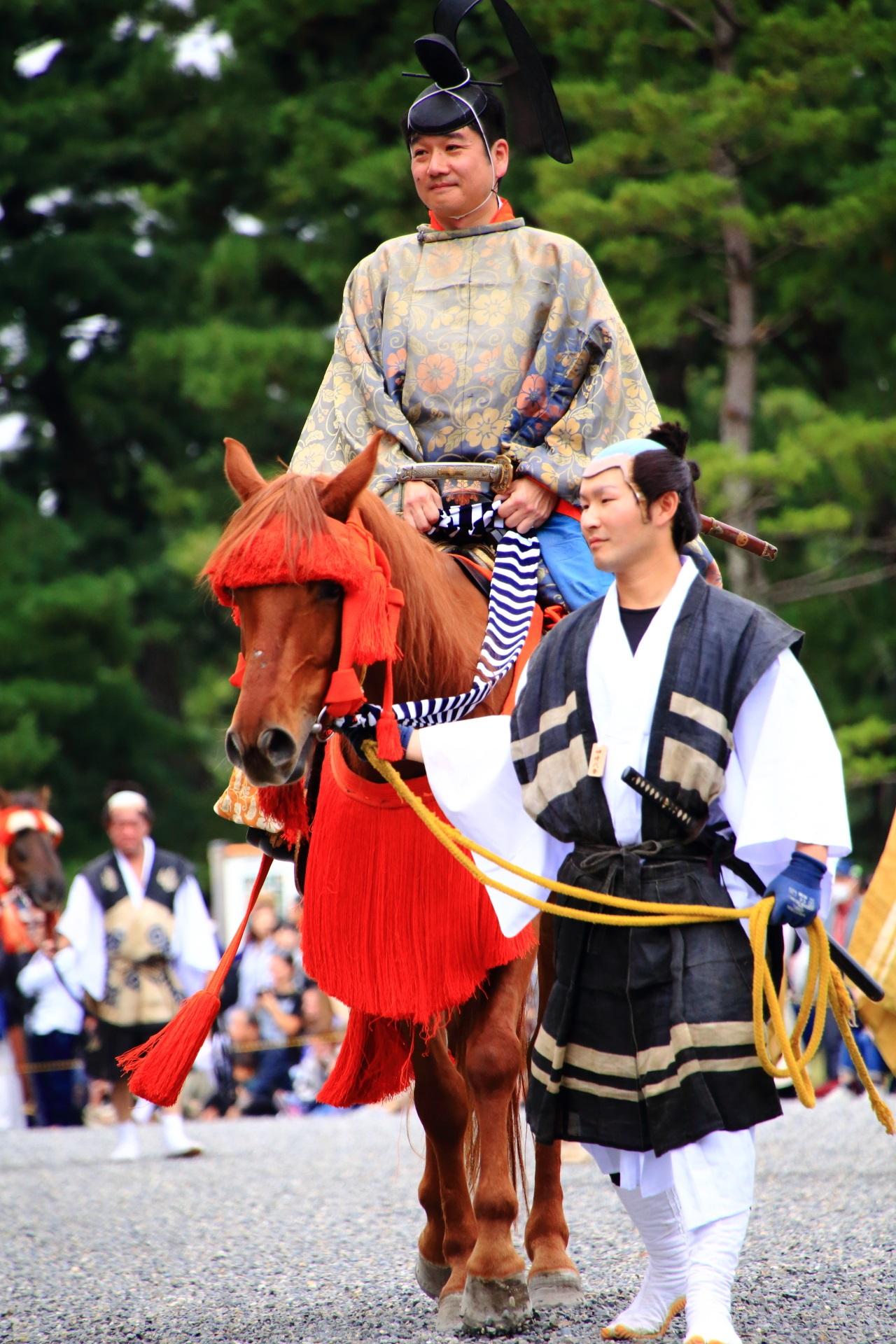 京都三大祭の時代祭の時代絵巻行列