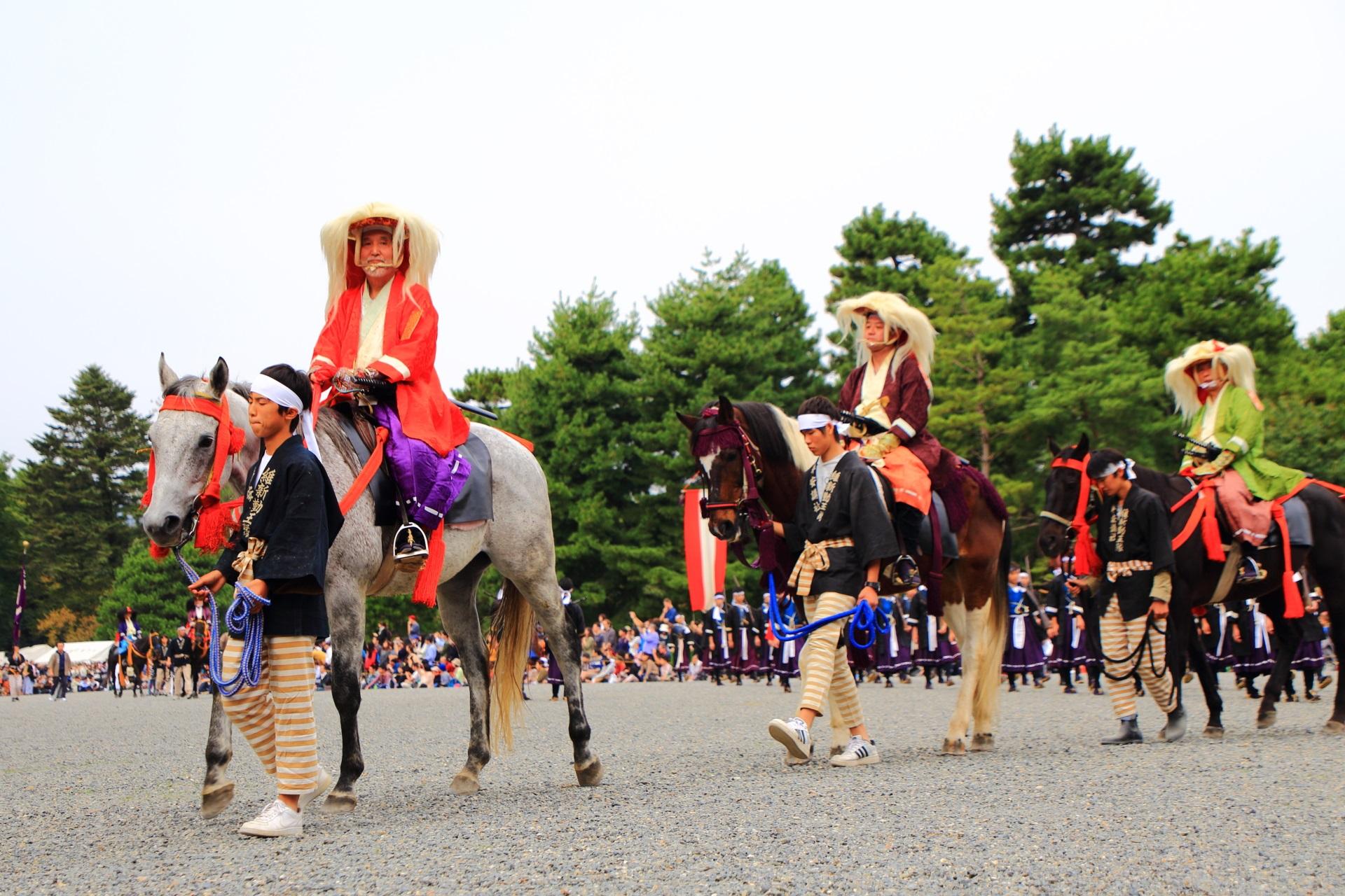 時代祭 明治維新 高画質 写真 京都三大祭