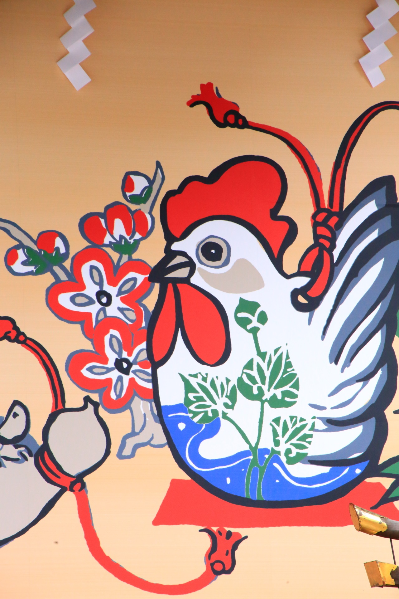 Kyoto Matsunoo-taisya A large ema A large ema Rooster year