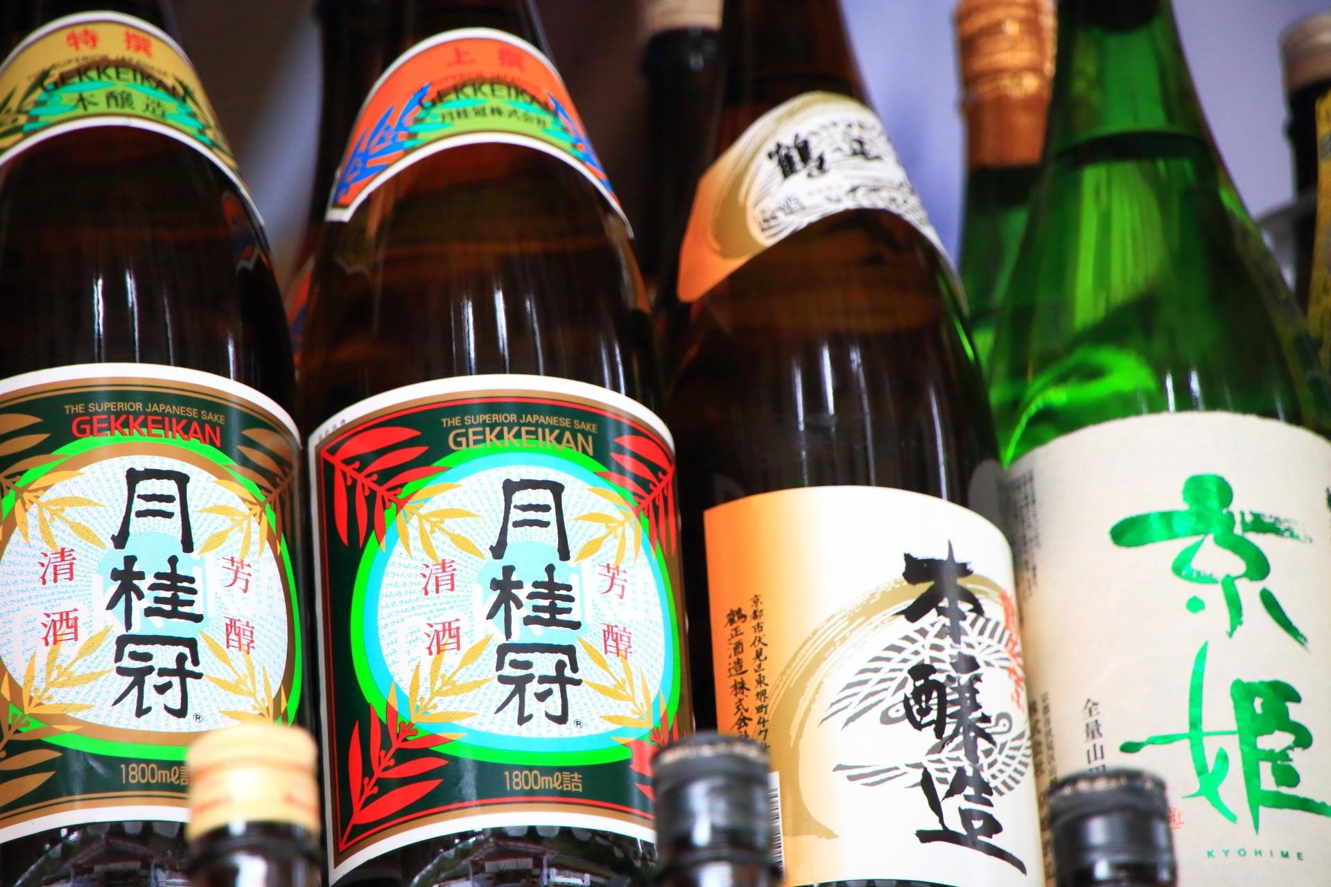 酒瓶 松尾大社 お正月 京都 綺麗
