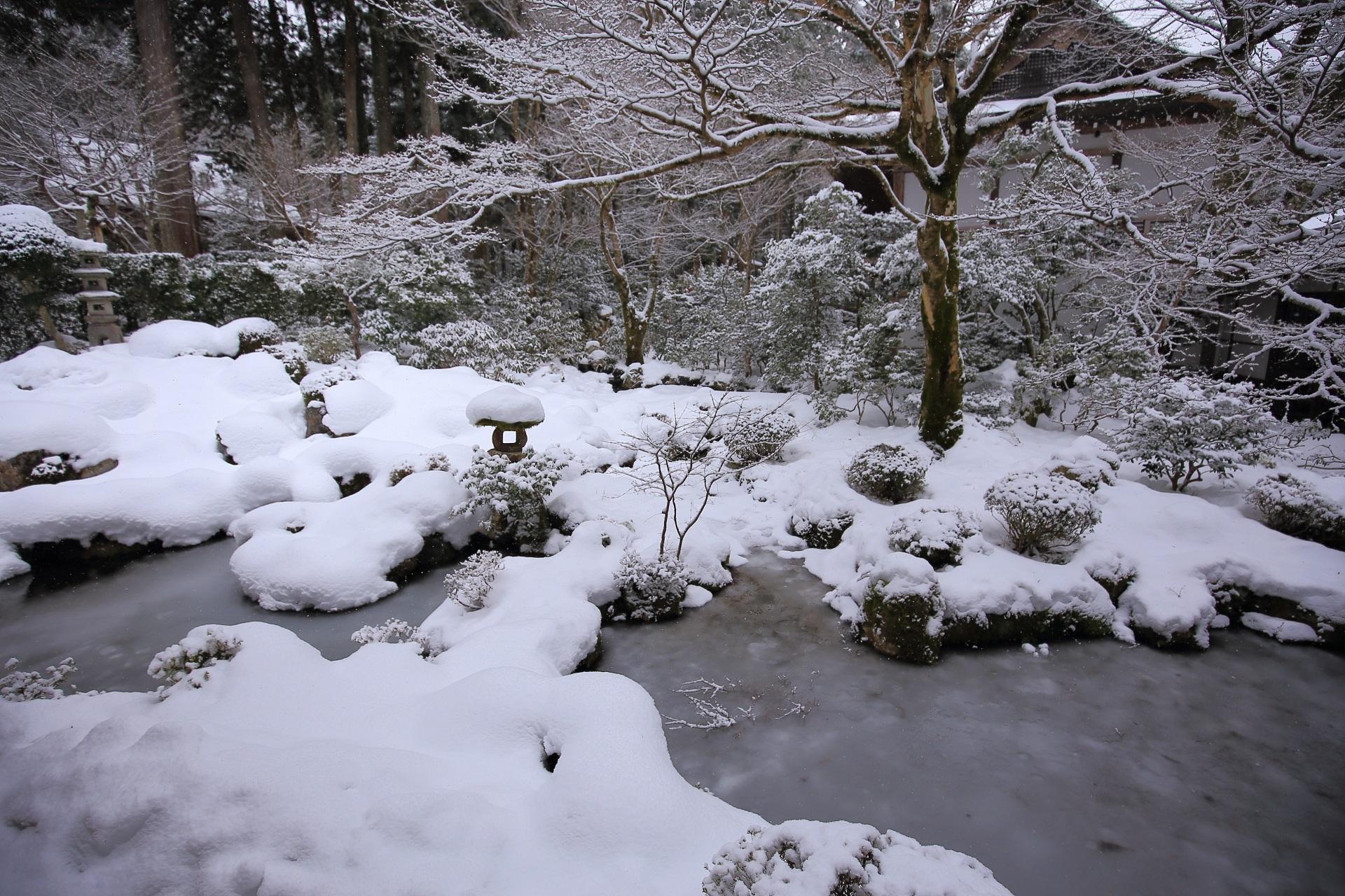 美しすぎる冬の三千院