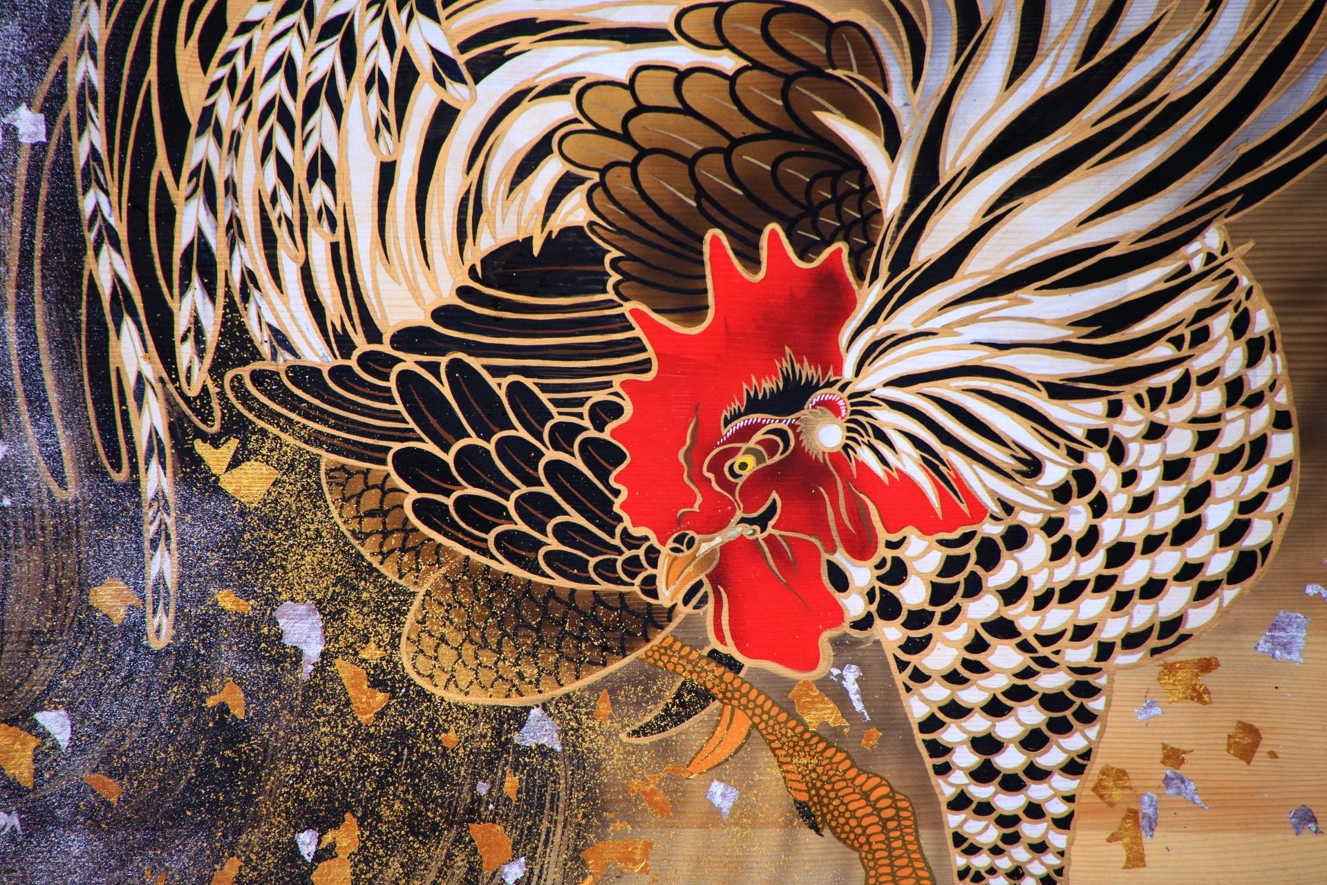 酉 大絵馬 高画質 写真 下鴨神社