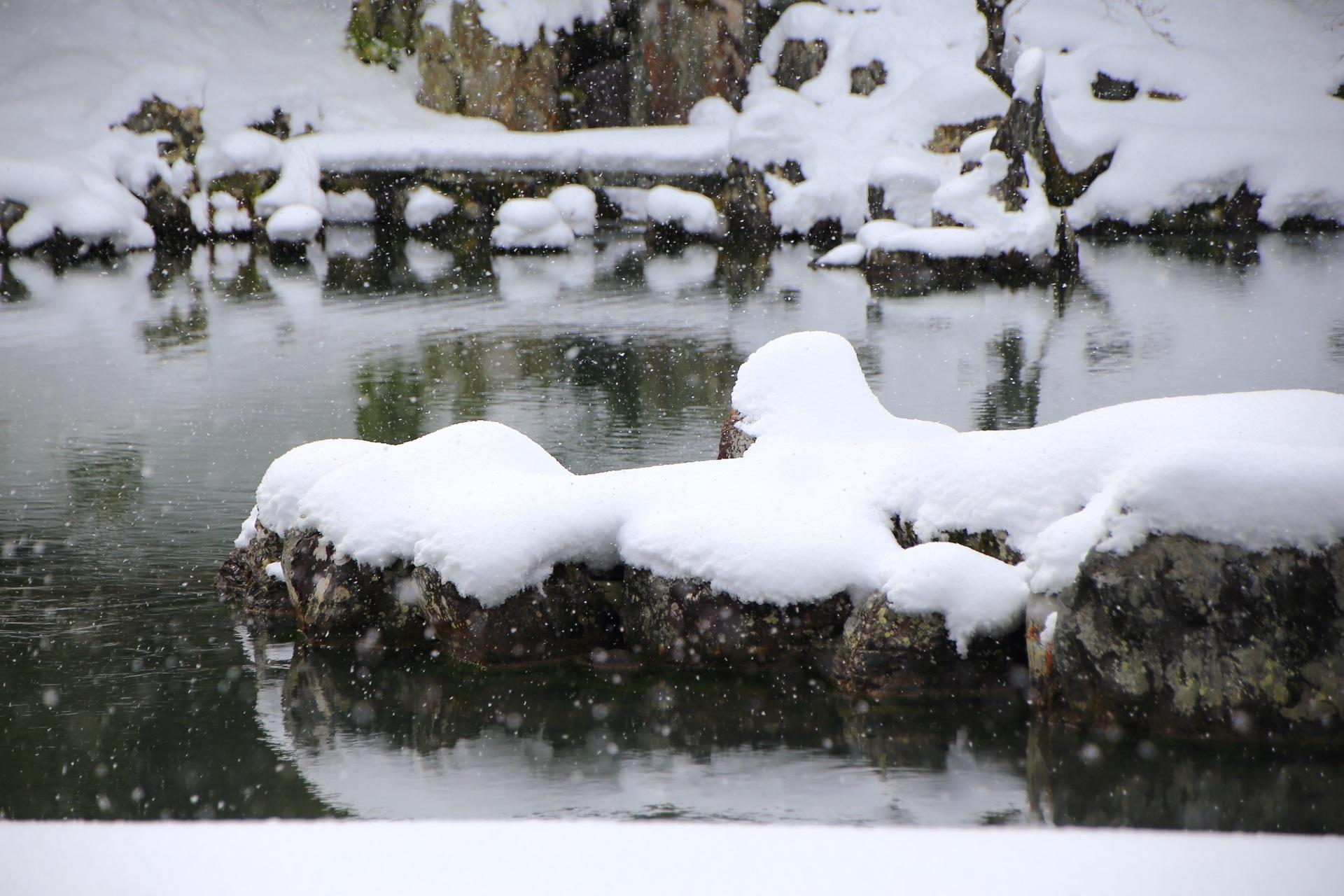 白銀 天龍寺 高画質 写真
