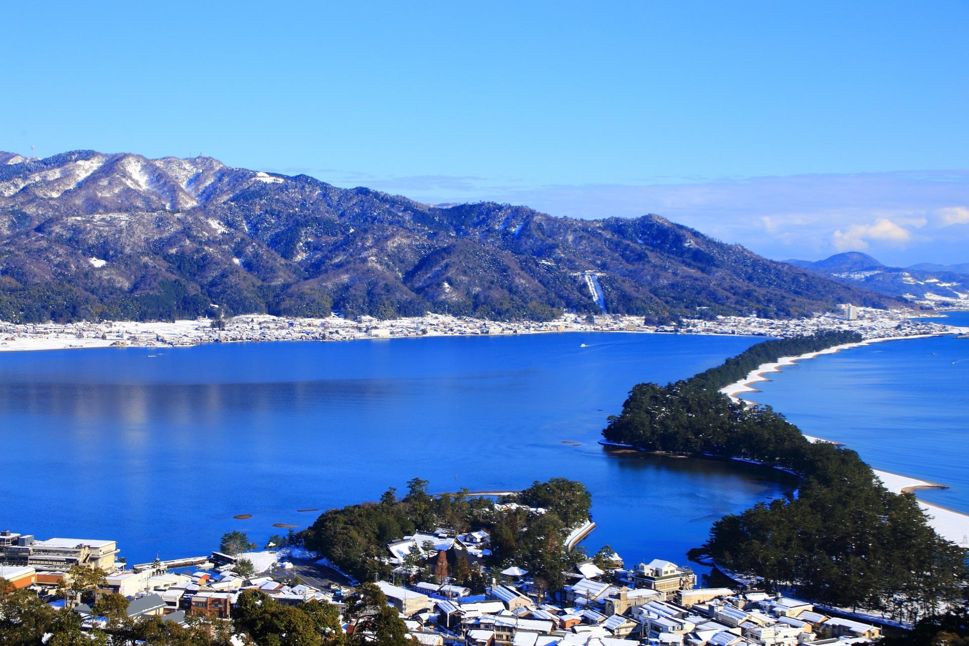 絶好の青空と青い海