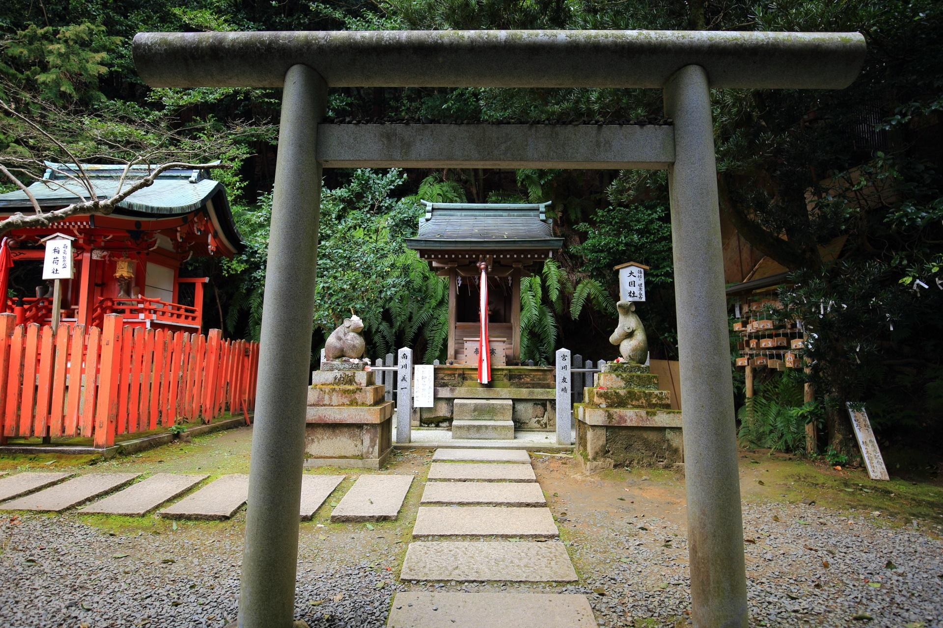 ねずみの神社の大豊神社