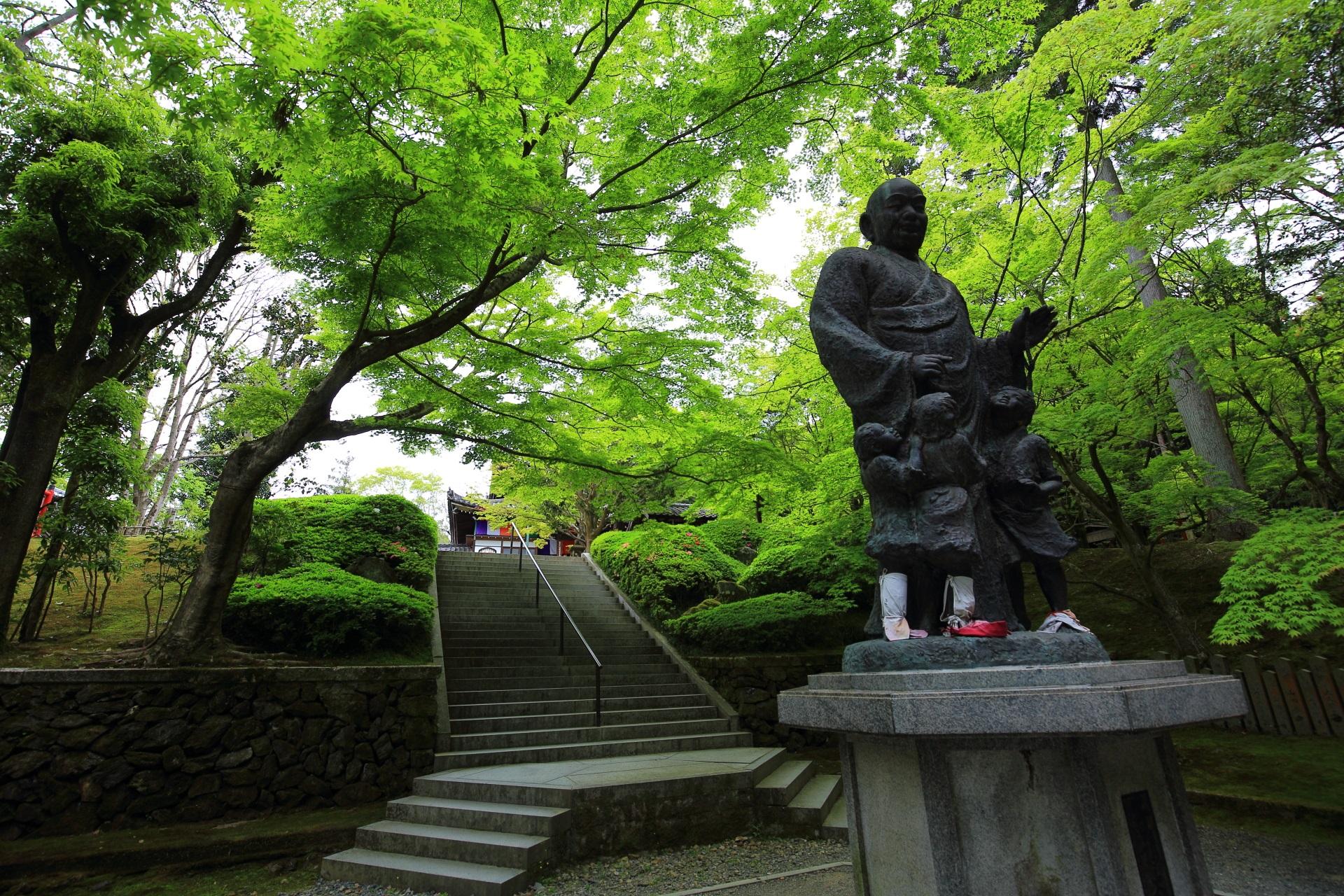 子護大師 今熊野観音寺 新緑