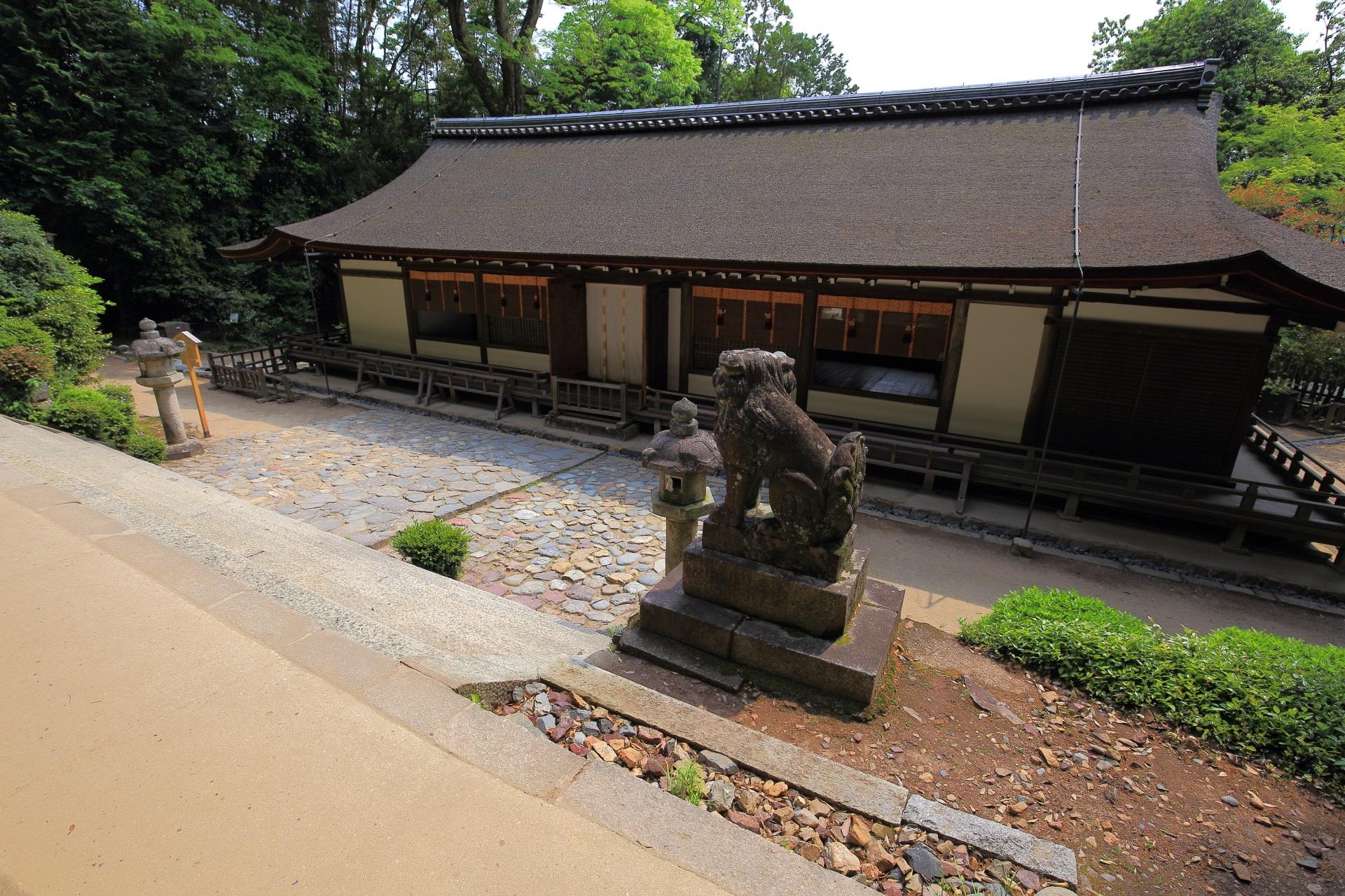 宇治上神社の国宝の拝殿