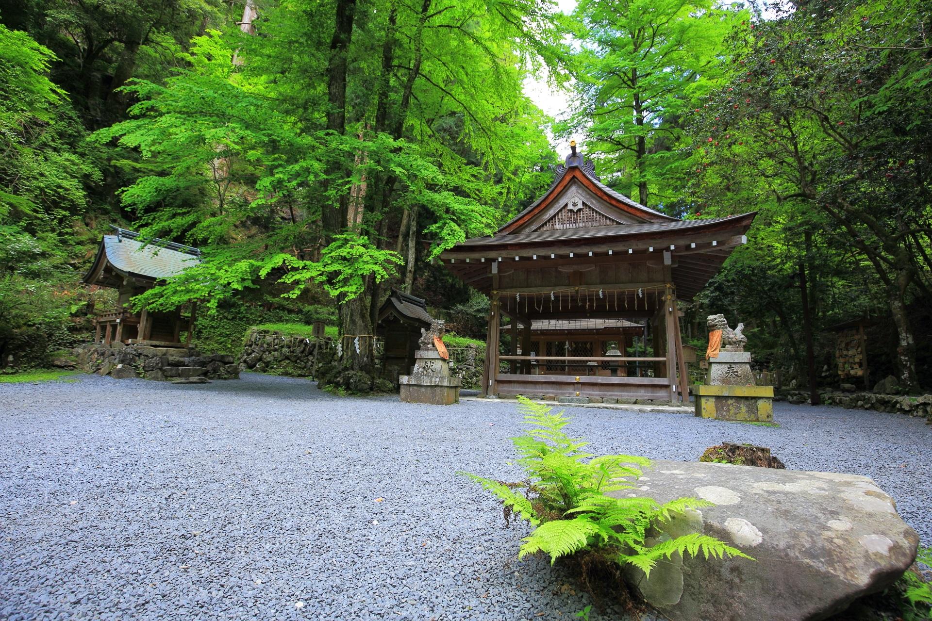 厳かな貴船神社の奥宮