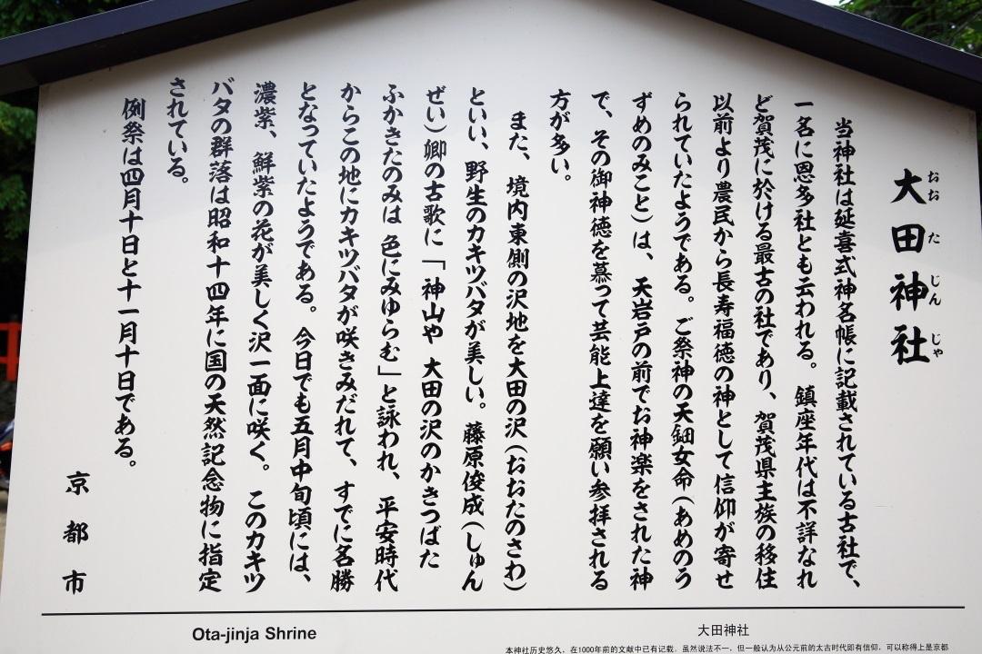 大田神社の説明