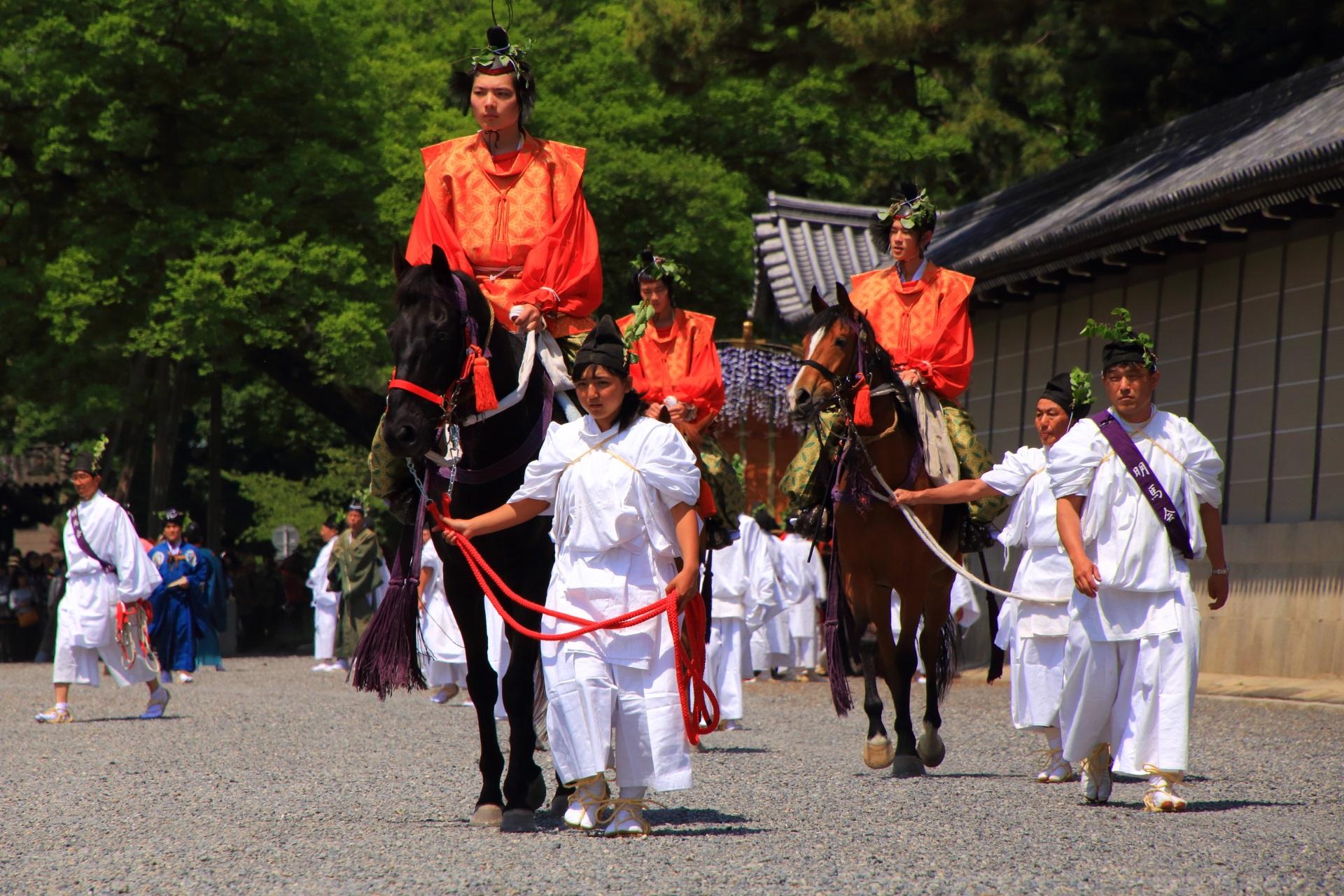 本列 乗尻(のりじり) 行列を先導する騎馬