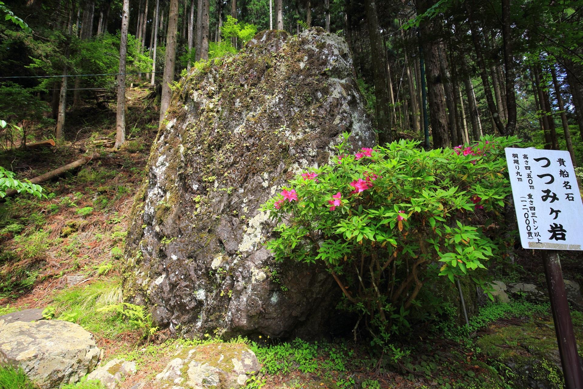 貴船神社のつつみが岩