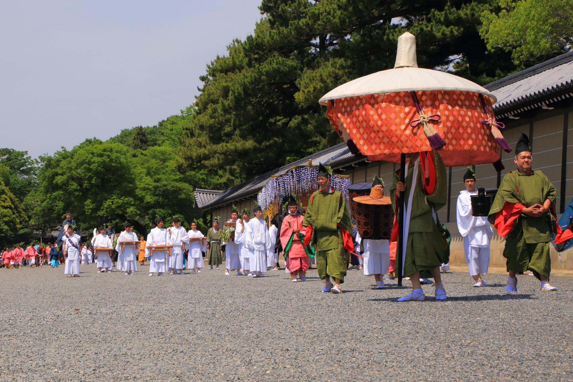 京都三大祭の葵祭(あおいまつり)