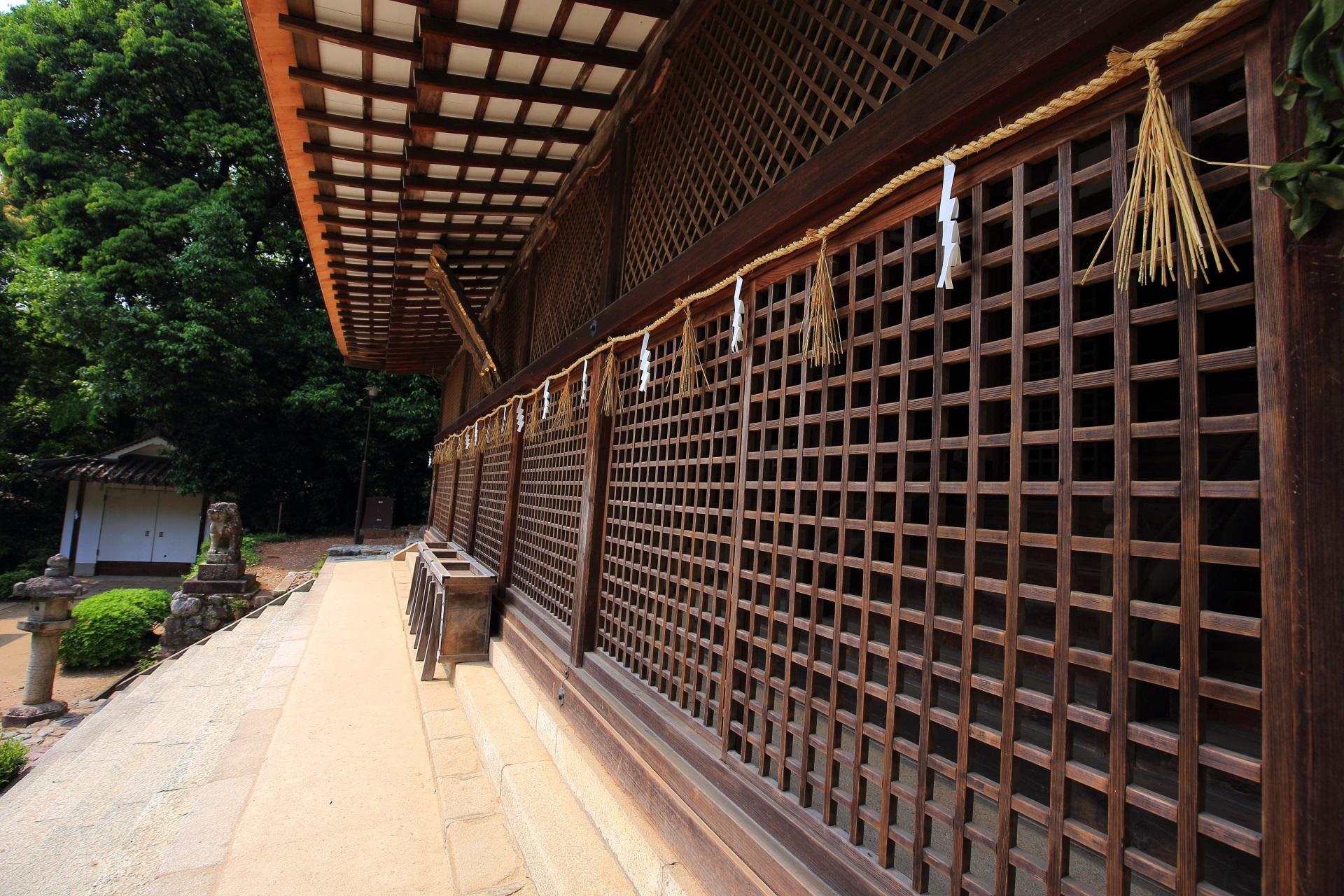 日本最古の神社建築の本殿
