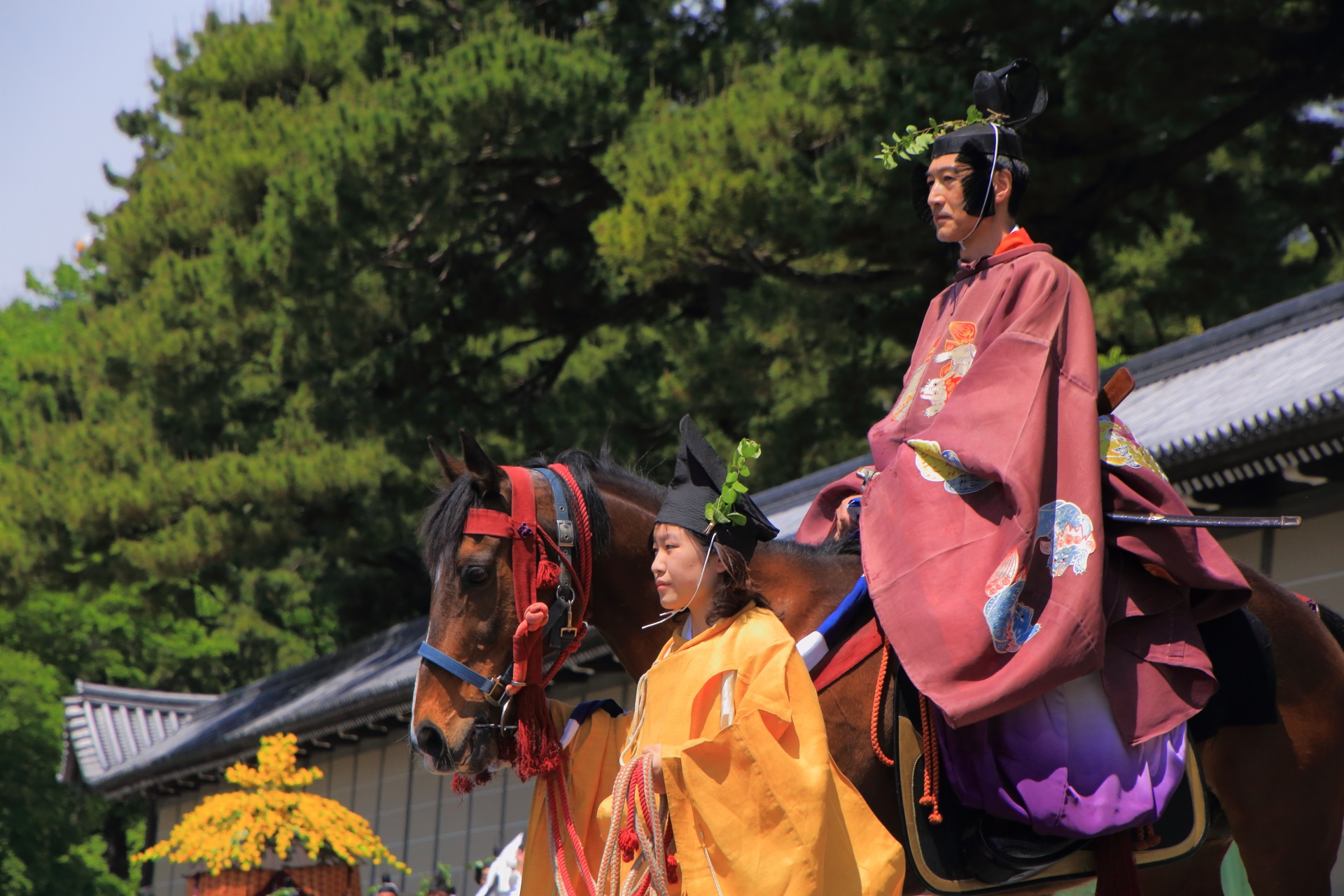 歴史ある葵祭
