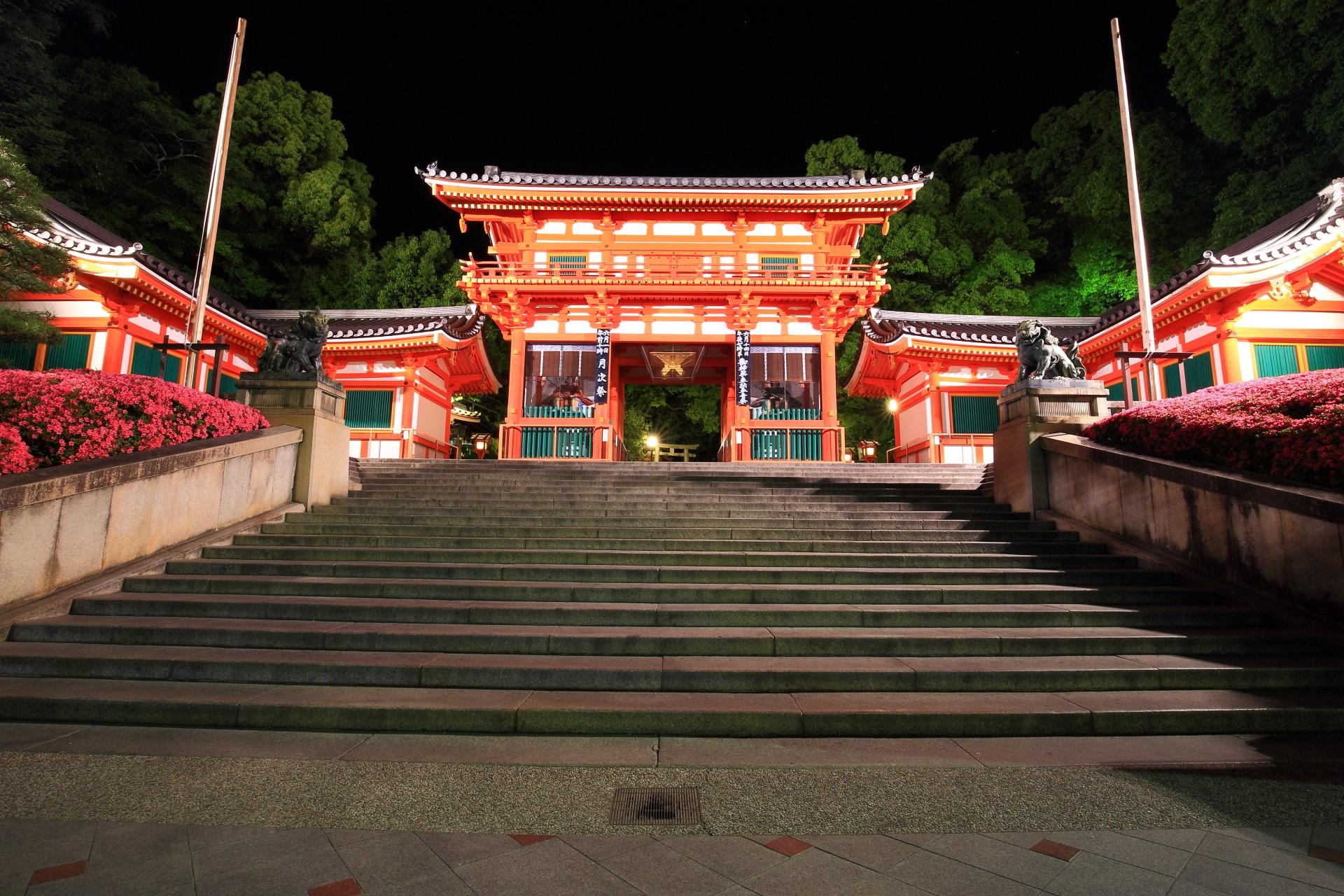八坂神社の夜景