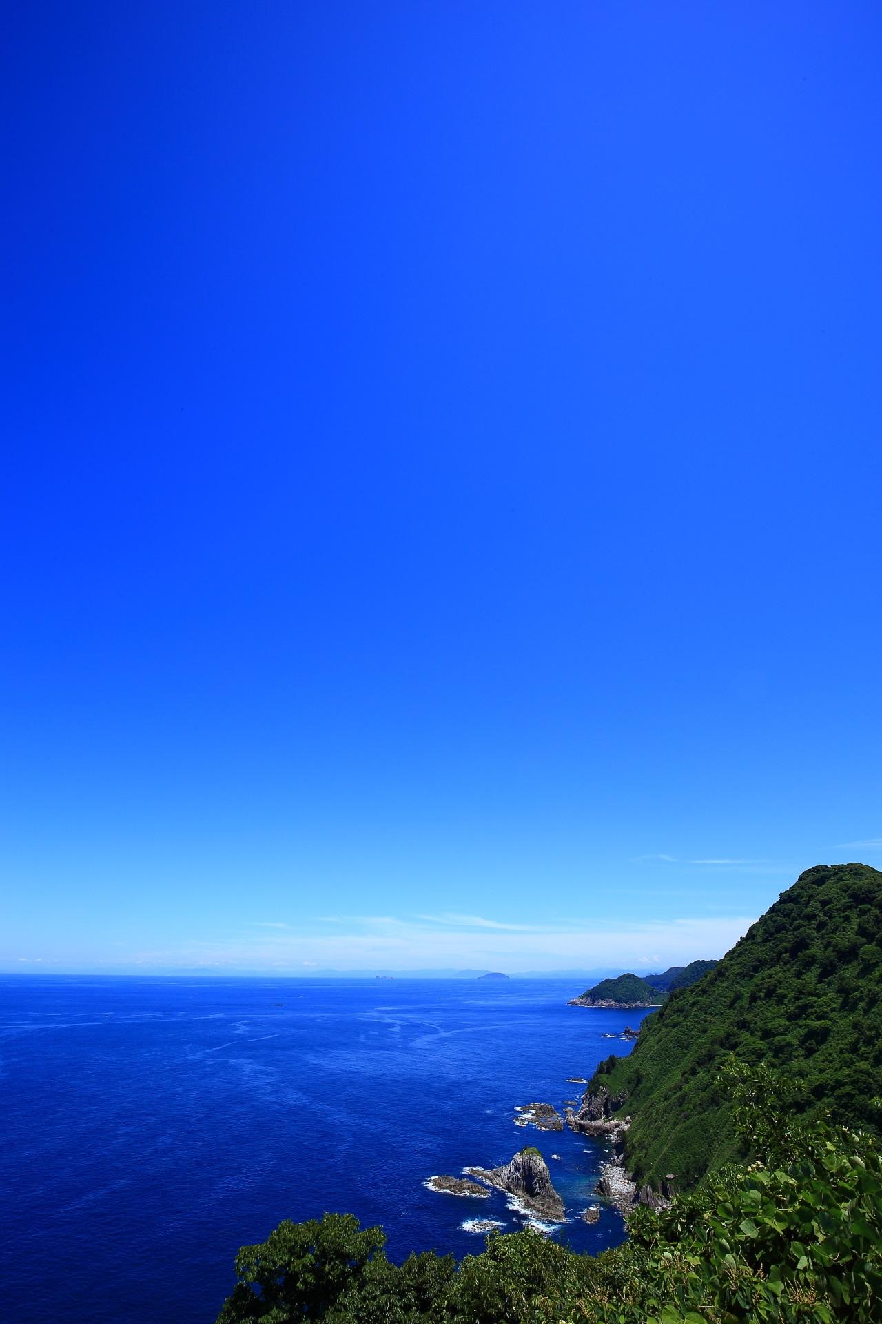 京都とは思えない京丹後の袖志の経ヶ岬の海の絶景