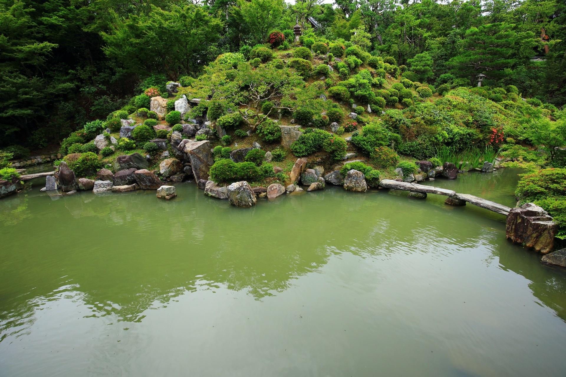 智積院の名勝庭園