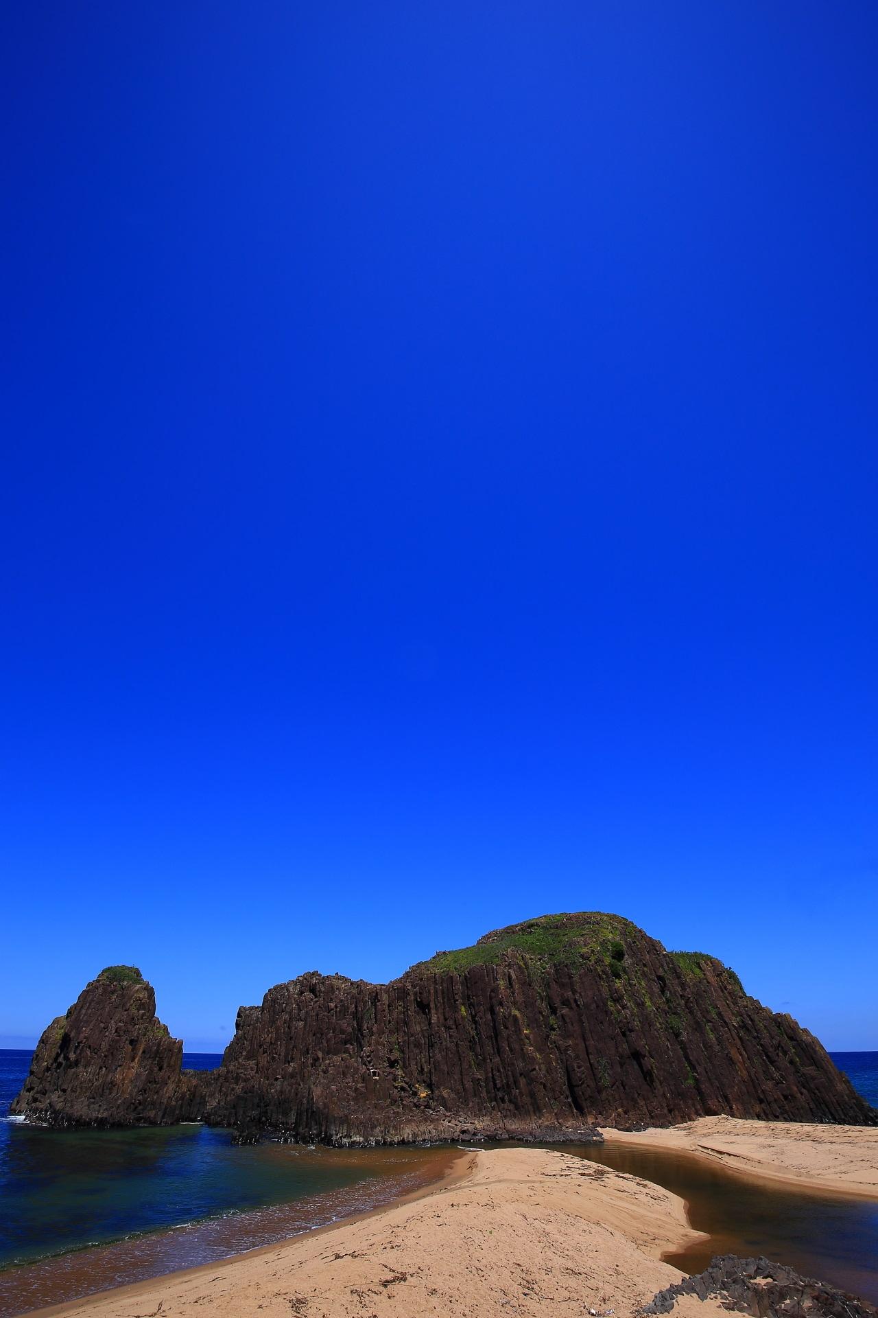 立岩や後ヶ浜の素晴らしすぎる自然の情景