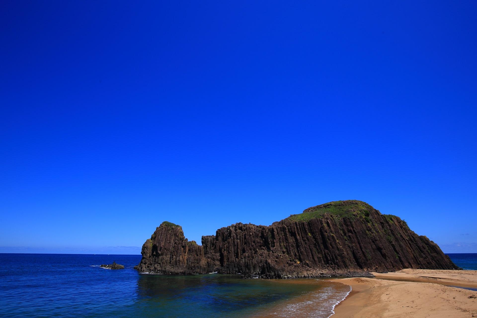 高画質 立岩 絶景 写真