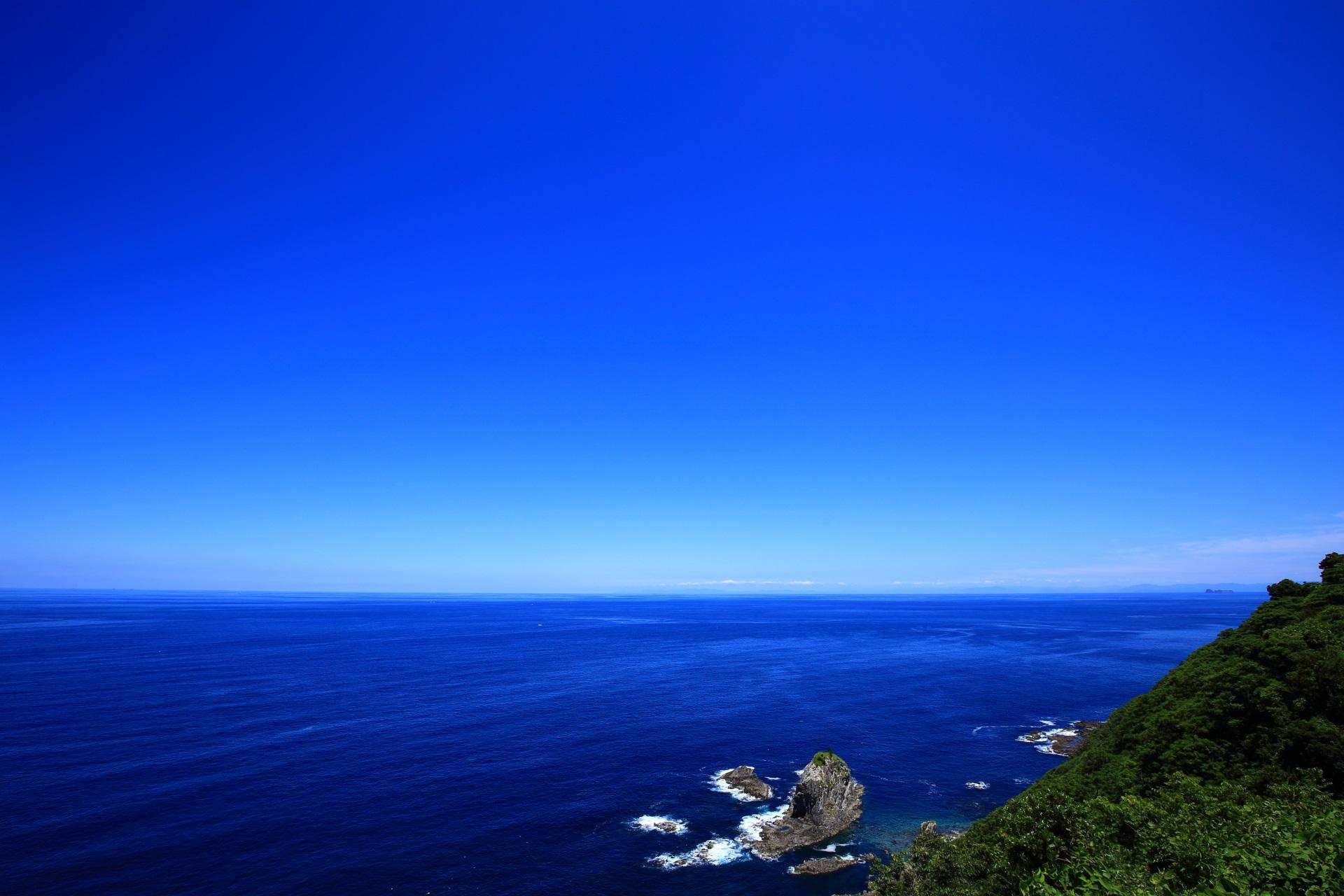 海の京都の経ヶ岬から眺める凄い絶景