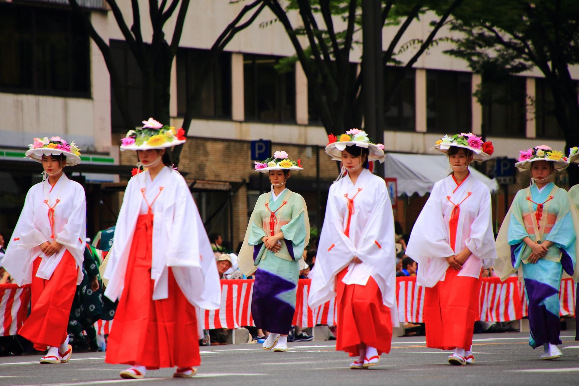 A gorgeous Hanagasa-Junko of the Gion-Matsuri Festival in Kyoto