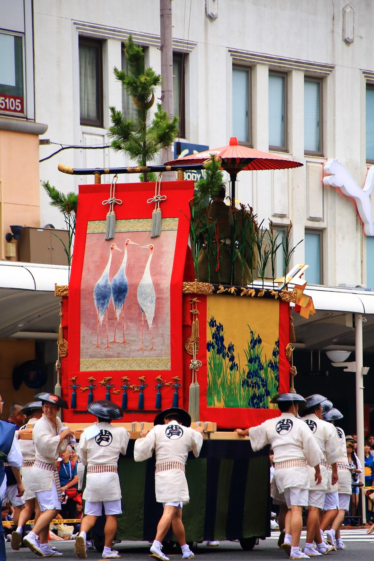 Ashikari-Yama appeared in Kyoto Gion-Matsuri Festival