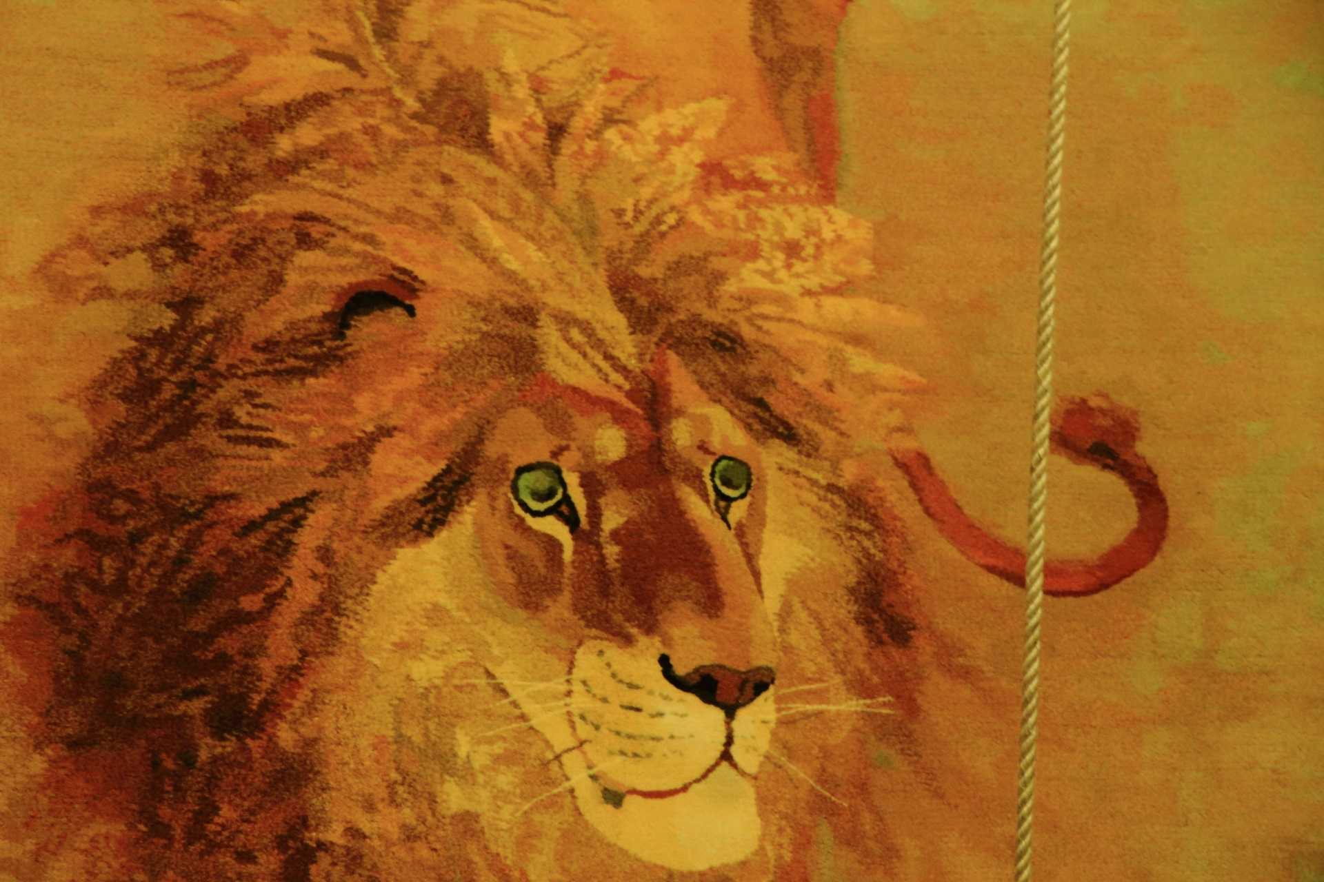 芦刈山のライオン