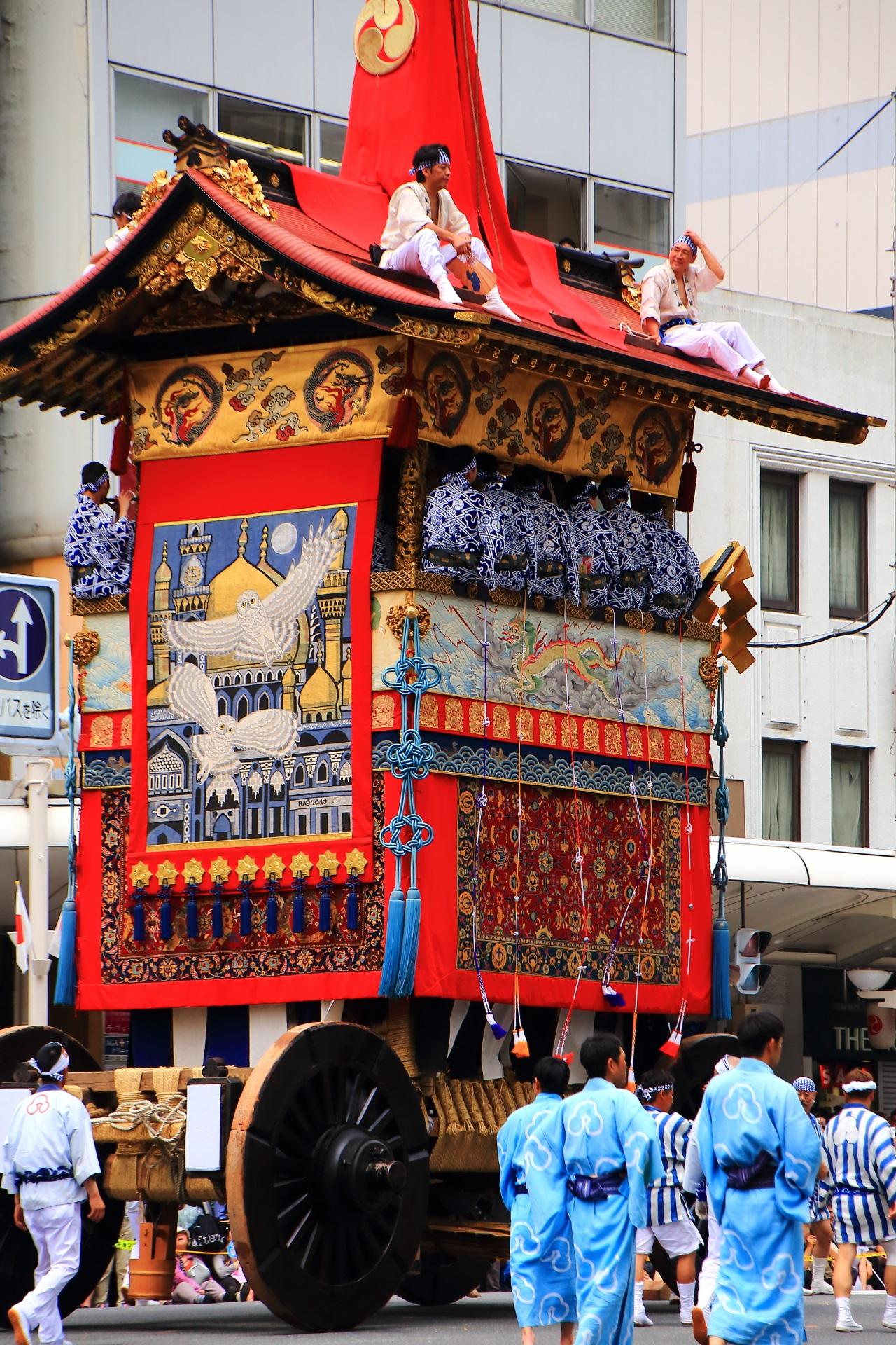 Yamahoko-Junkko Parade of the Kyoto Gion-Festival