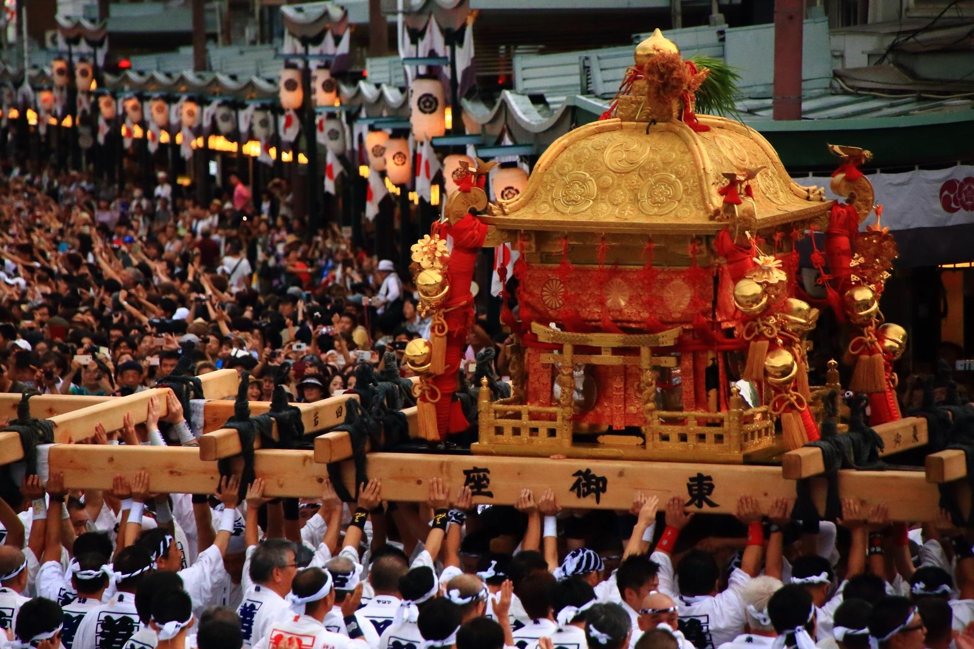 高画質 写真 神幸祭 祇園祭