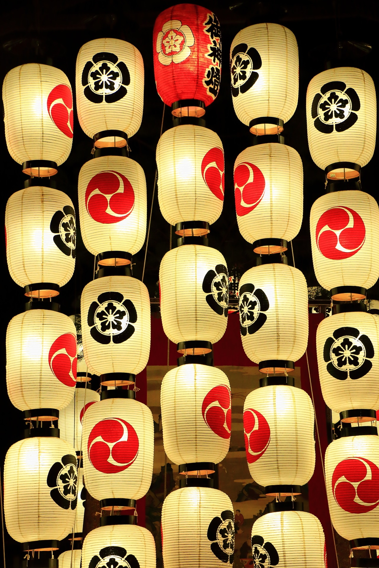 The Yoi-Yama of Kyoto Gion-Festival which is a summer tradition