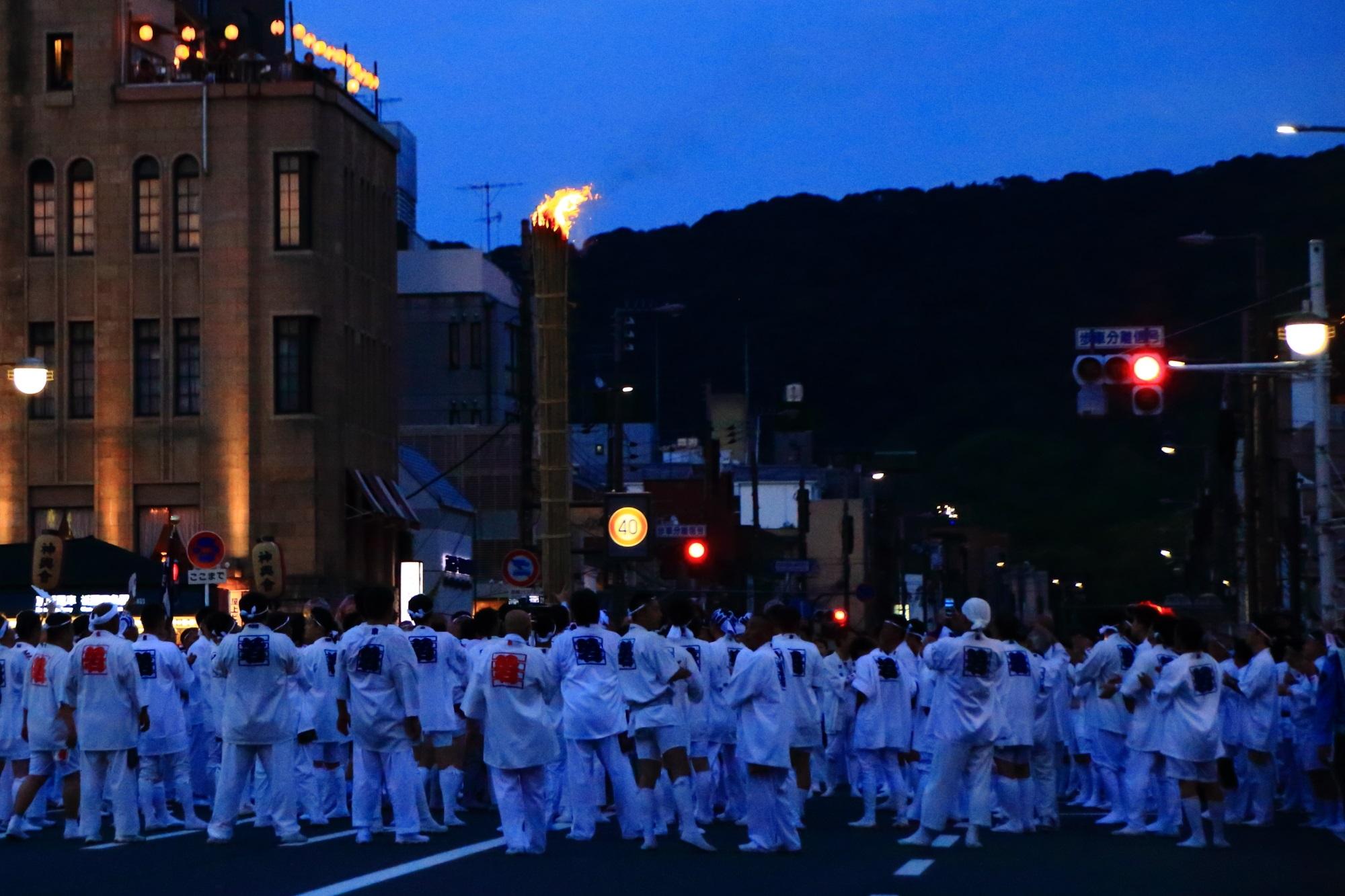 神輿洗 祇園祭 日本三大祭