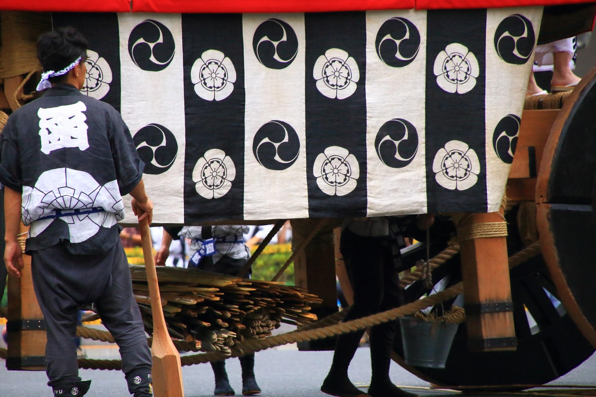 祇園祭山鉾巡行の函谷鉾