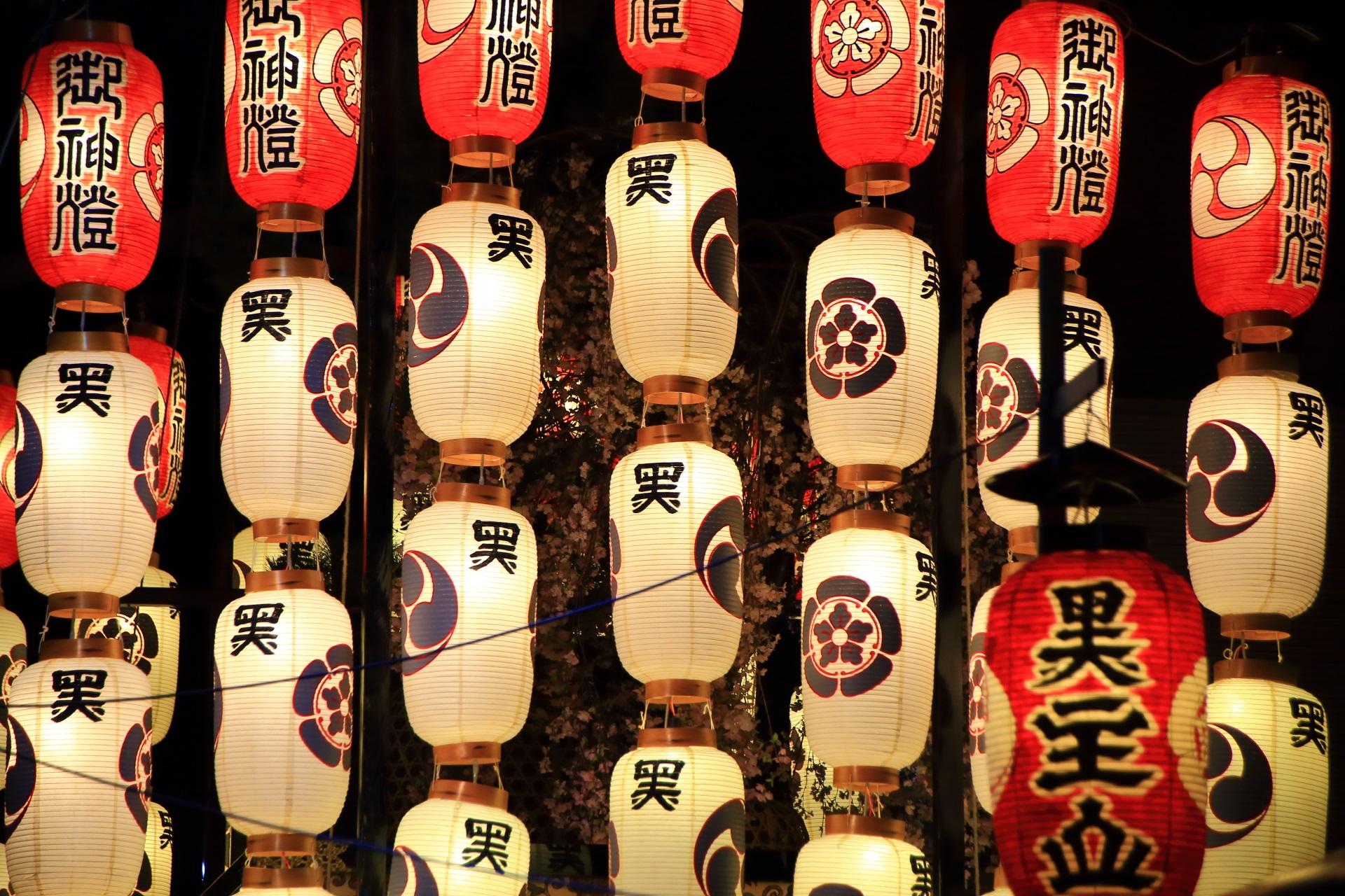 幻想的な祇園祭の宵山