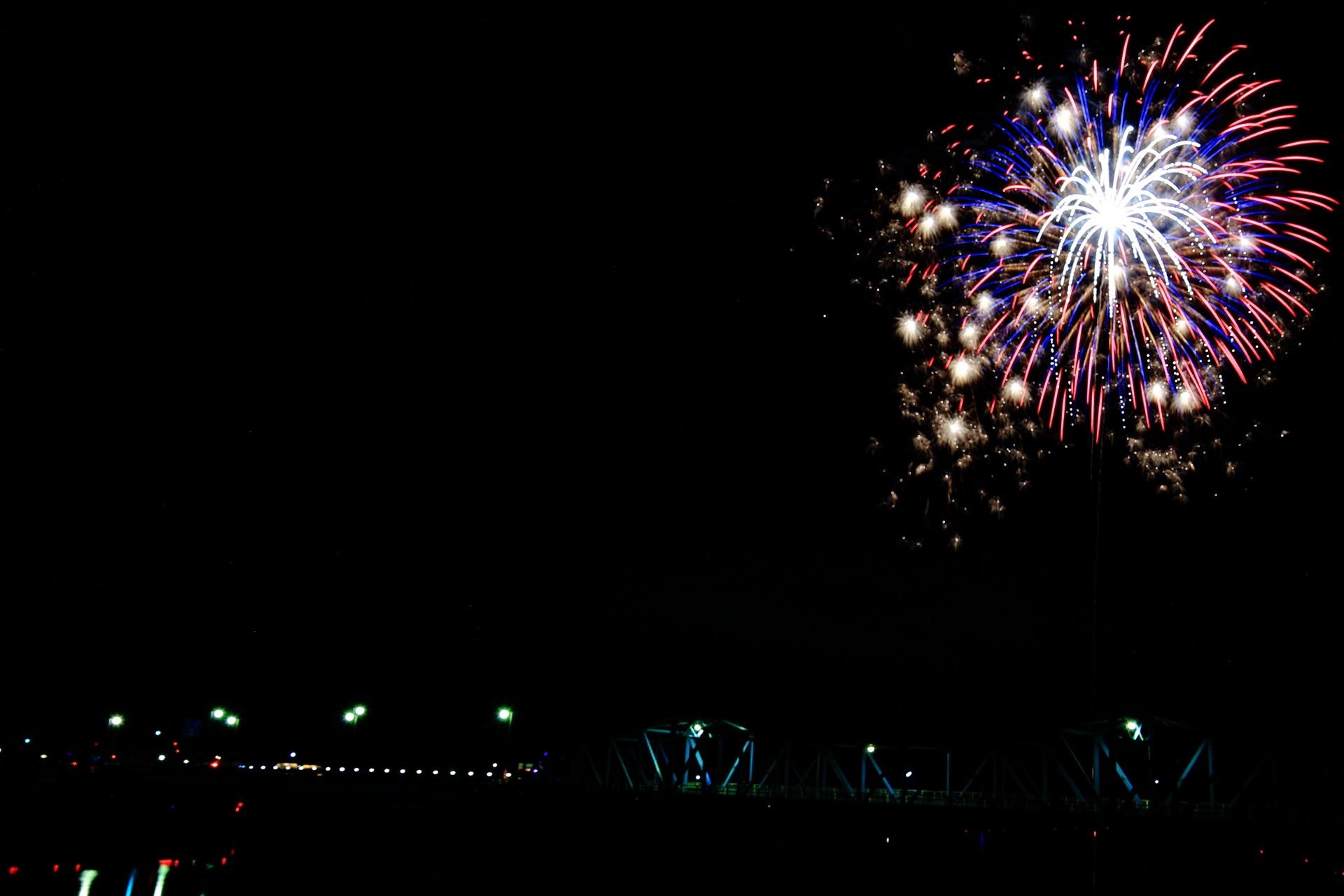 夜空を焦がす南丹市花火大会