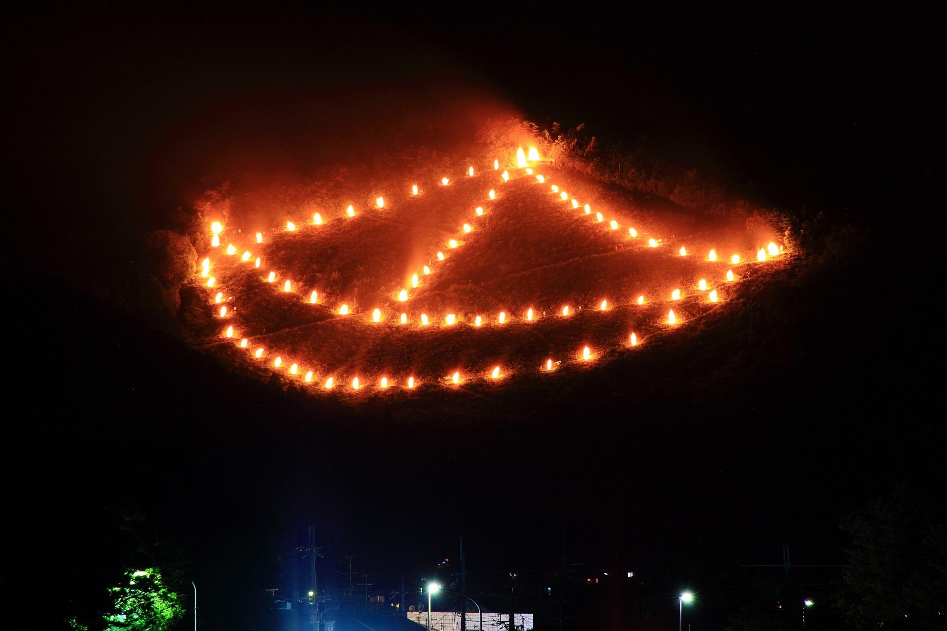 五山の送り火の舟形